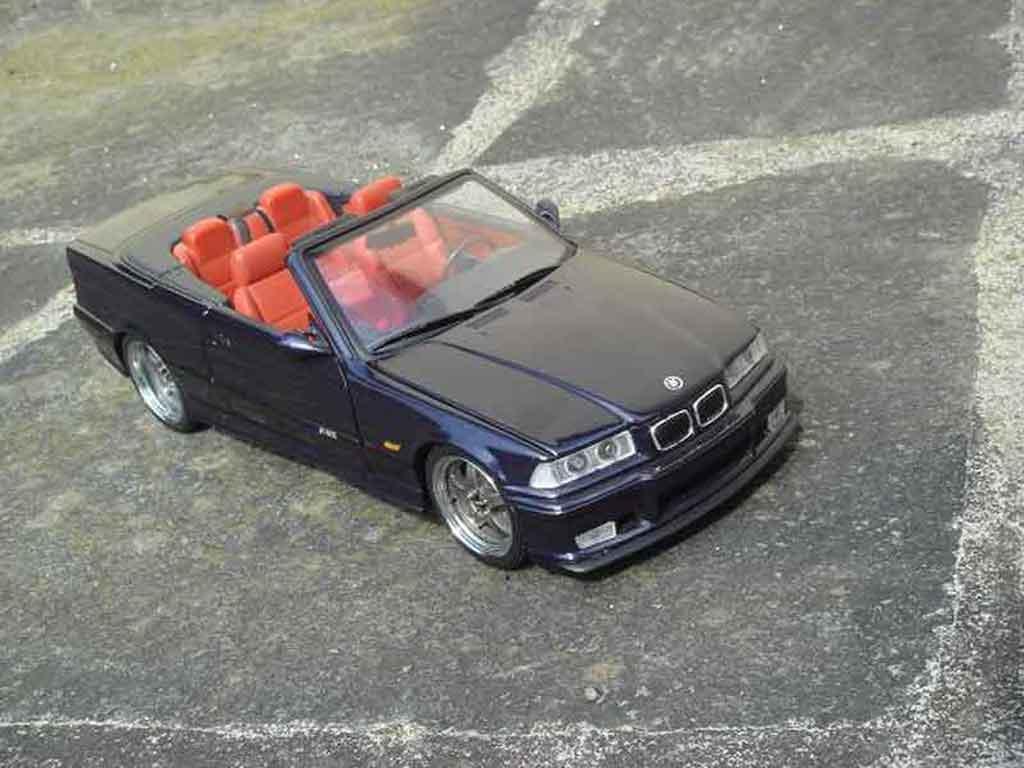Bmw M3 E36 cabriolet 1/18 Ut Models jantes kinesis
