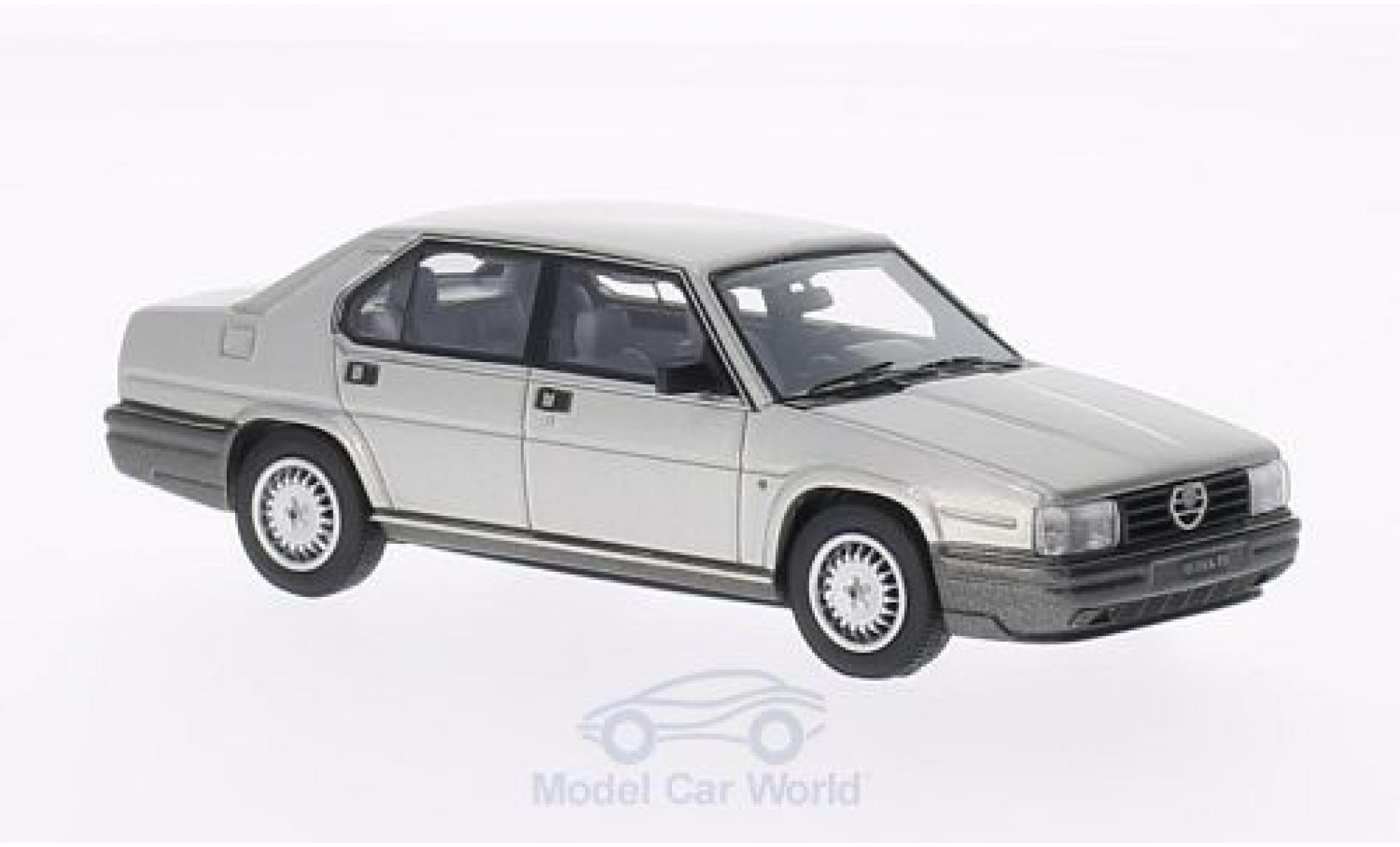 Alfa Romeo 90 1/43 Kess Alfa Quadrifoglio Oro grise 1984