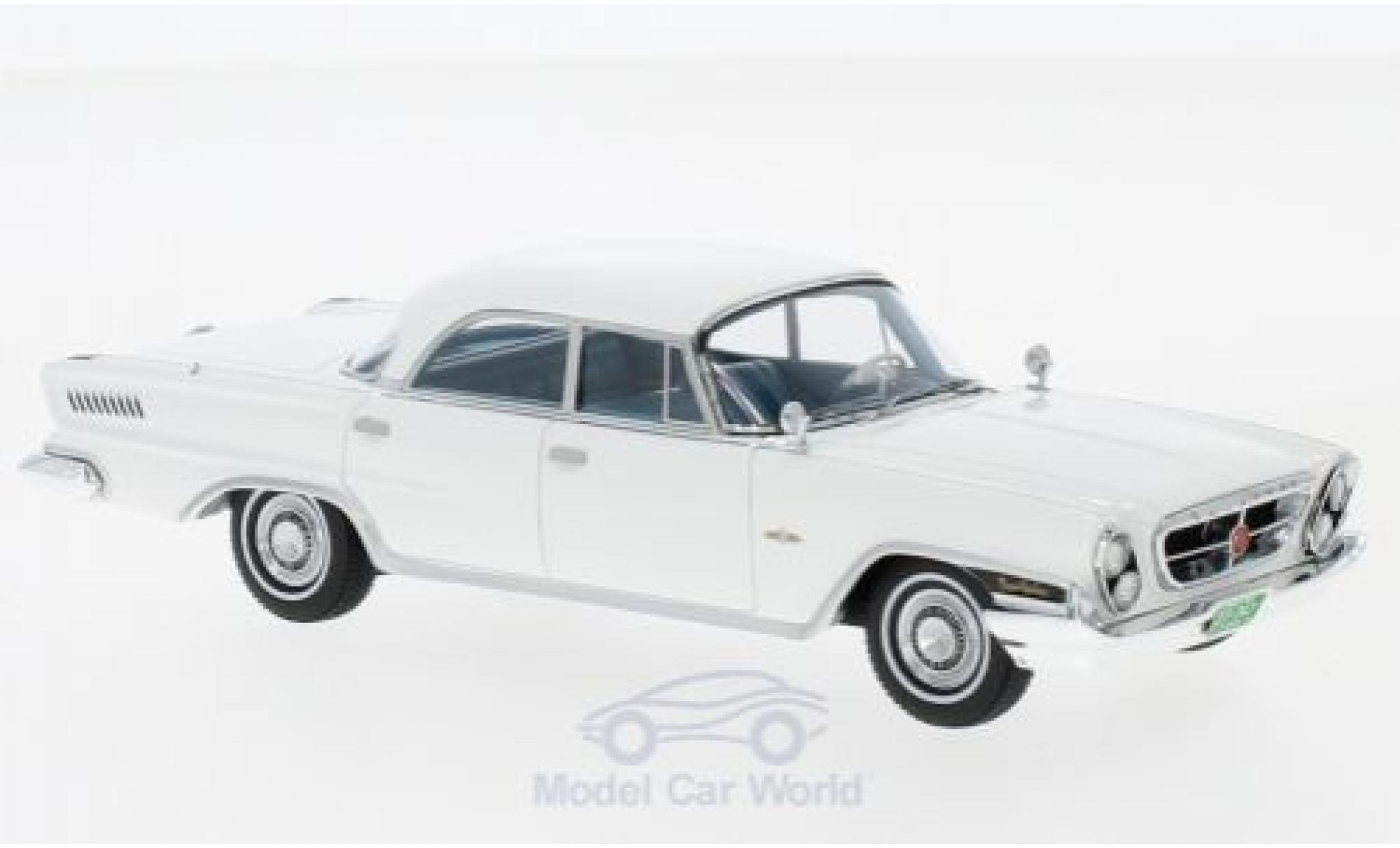 Chrysler New Yorker 1/43 Kess Sedan 4 Door blanche 1962