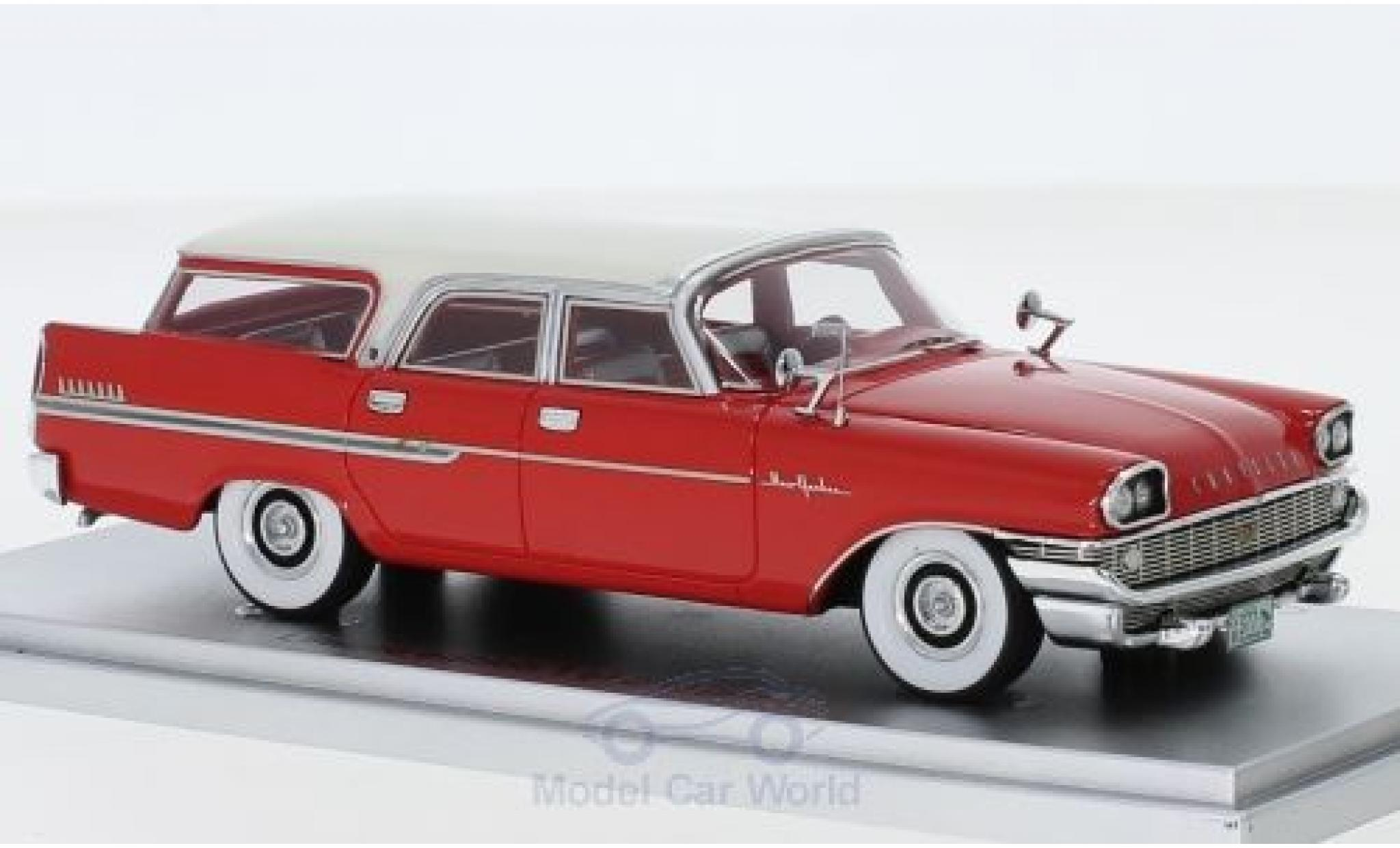 Chrysler New Yorker 1/43 Kess Town & Country Wagon rouge/blanche 1958