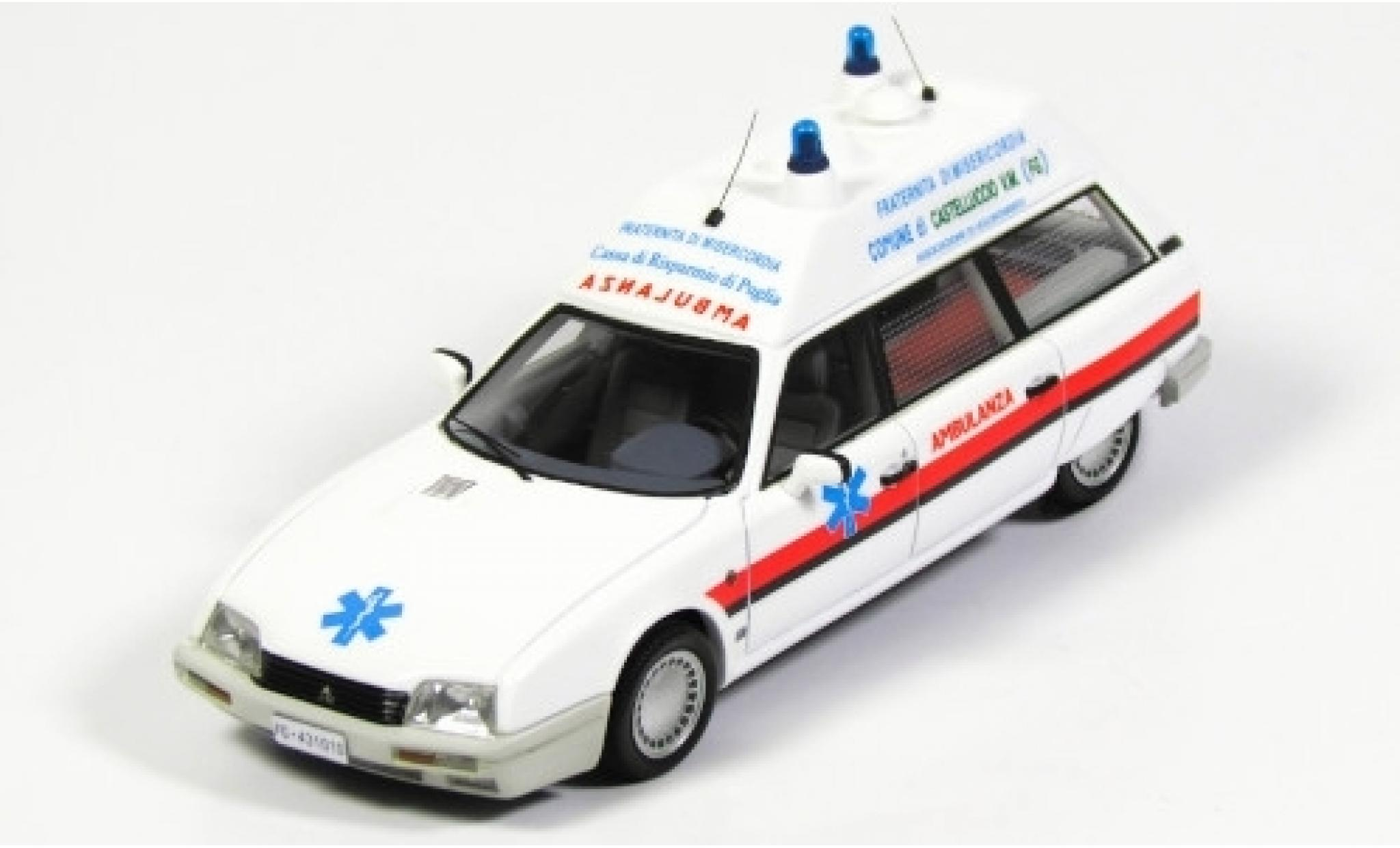 Citroen CX 1/43 Kess TGE Break Ambulance Fraternita Misericordia Foggia 1986
