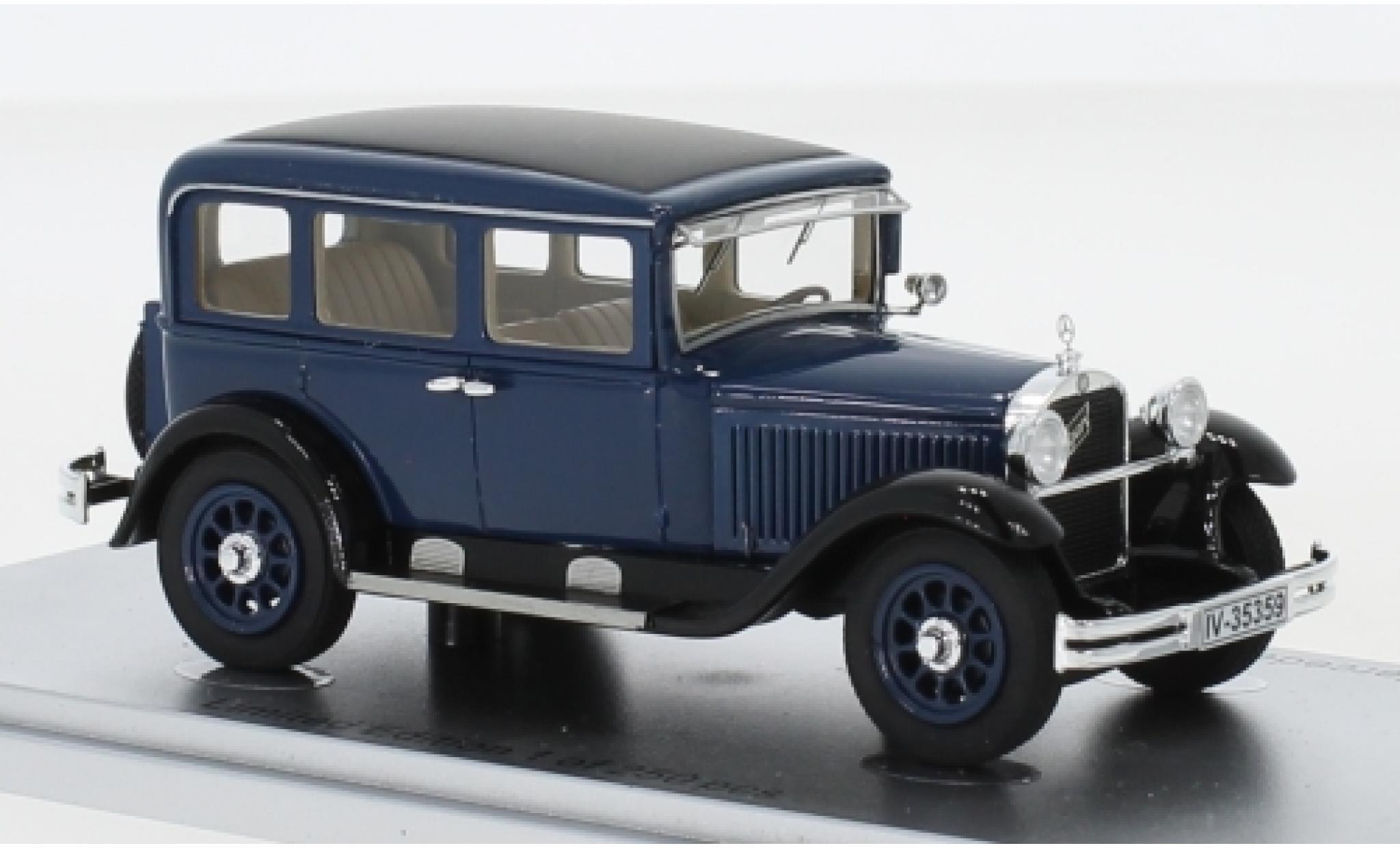 Mercedes 260 1/43 Kess Typ 10/50 Stuttgart (W11) bleue/noire 1929