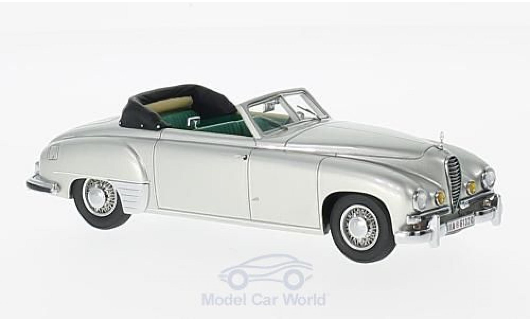 Mercedes 320 1/43 Kess (W142) by Wendler grise 1940 Cabriolet
