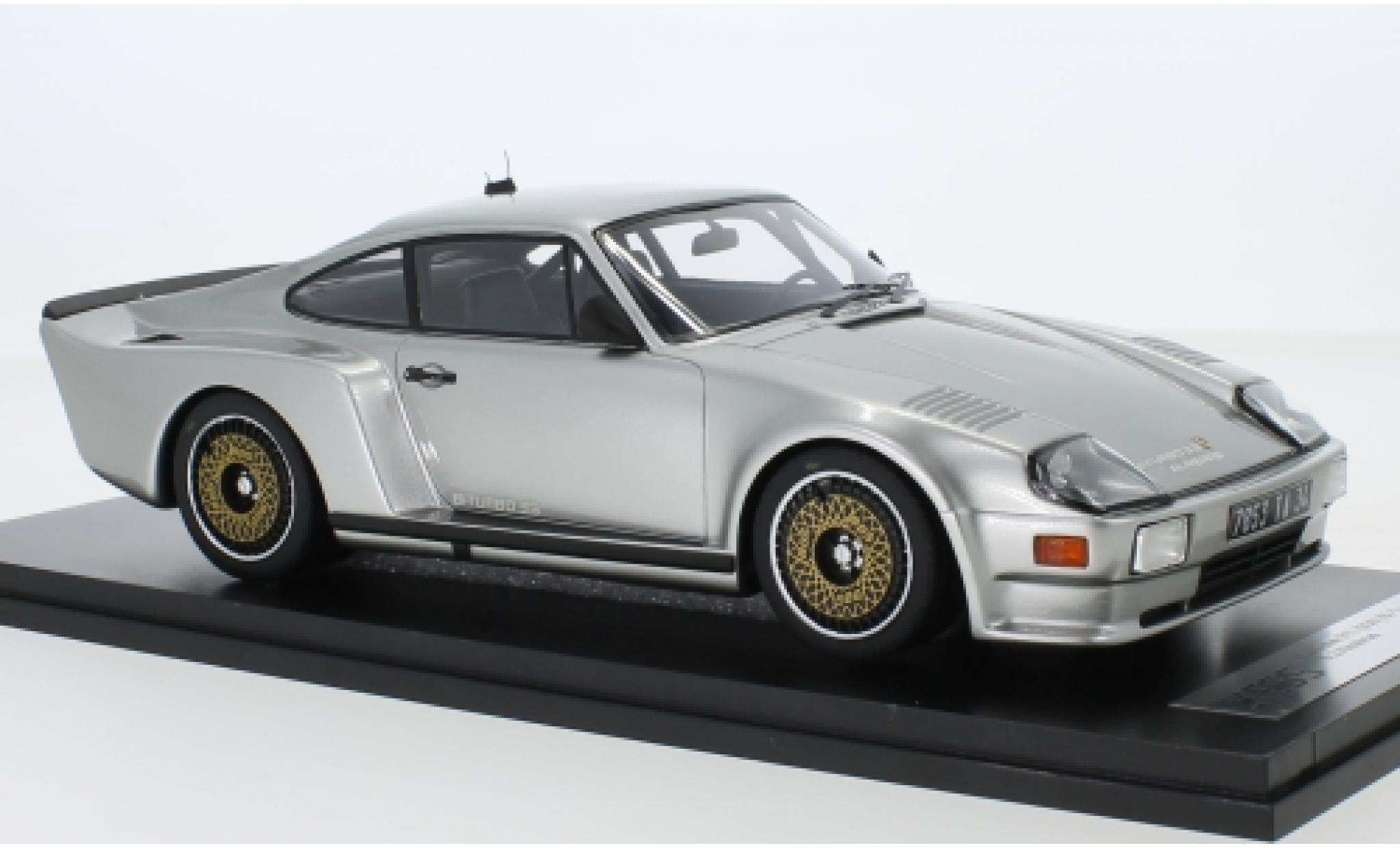 Porsche 993 Turbo 1/18 Kess 911 (930) Biturbo 3.3 Almeras grise 1