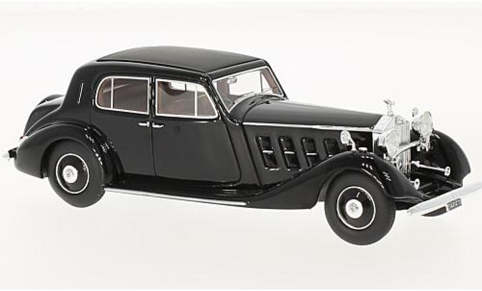 Rolls Royce Phantom 1/43 Kess II Pininfarina noire RHD 1935