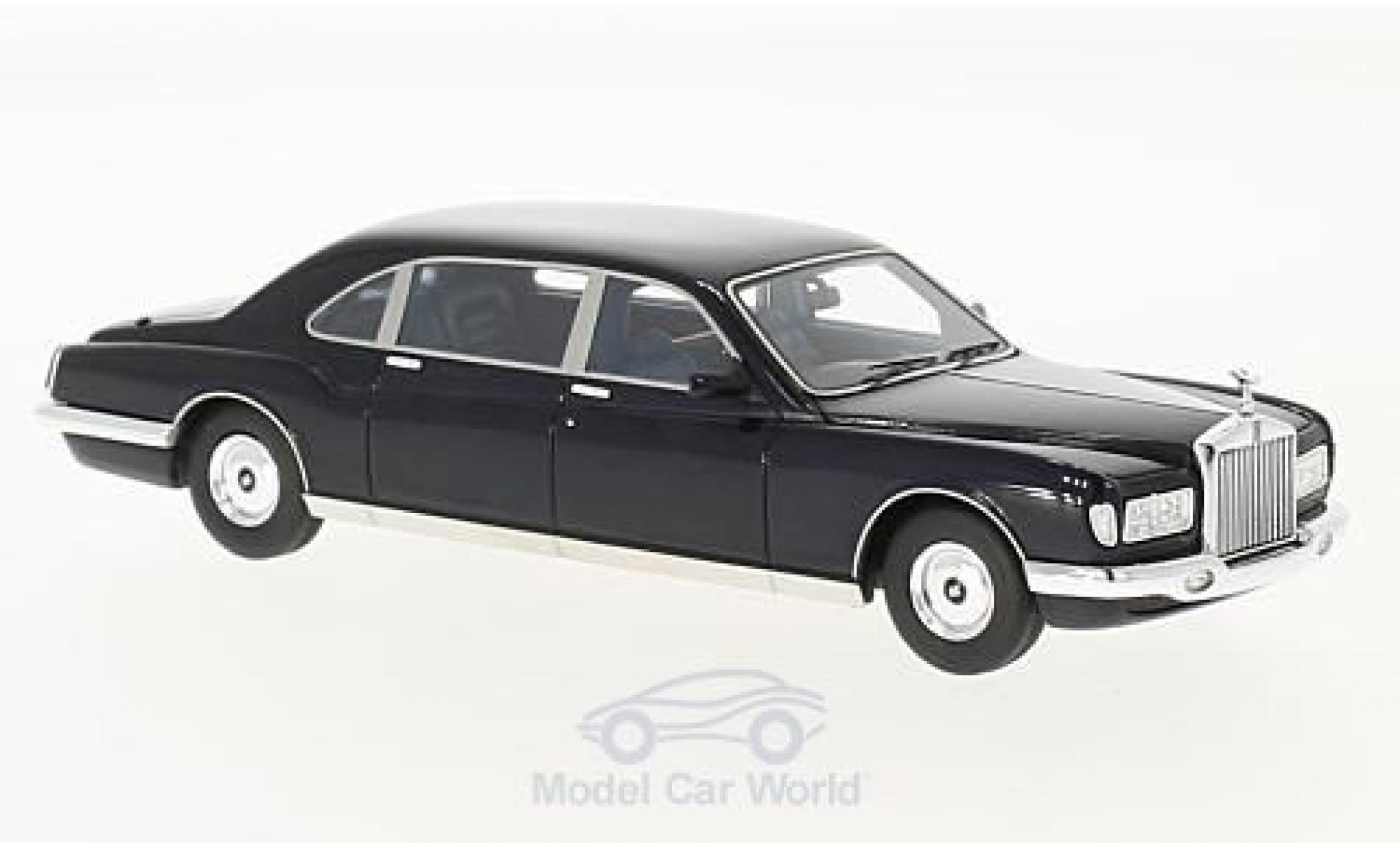 Rolls Royce Phantom 1/43 Kess Majestic Bertone bleue RHD 1995