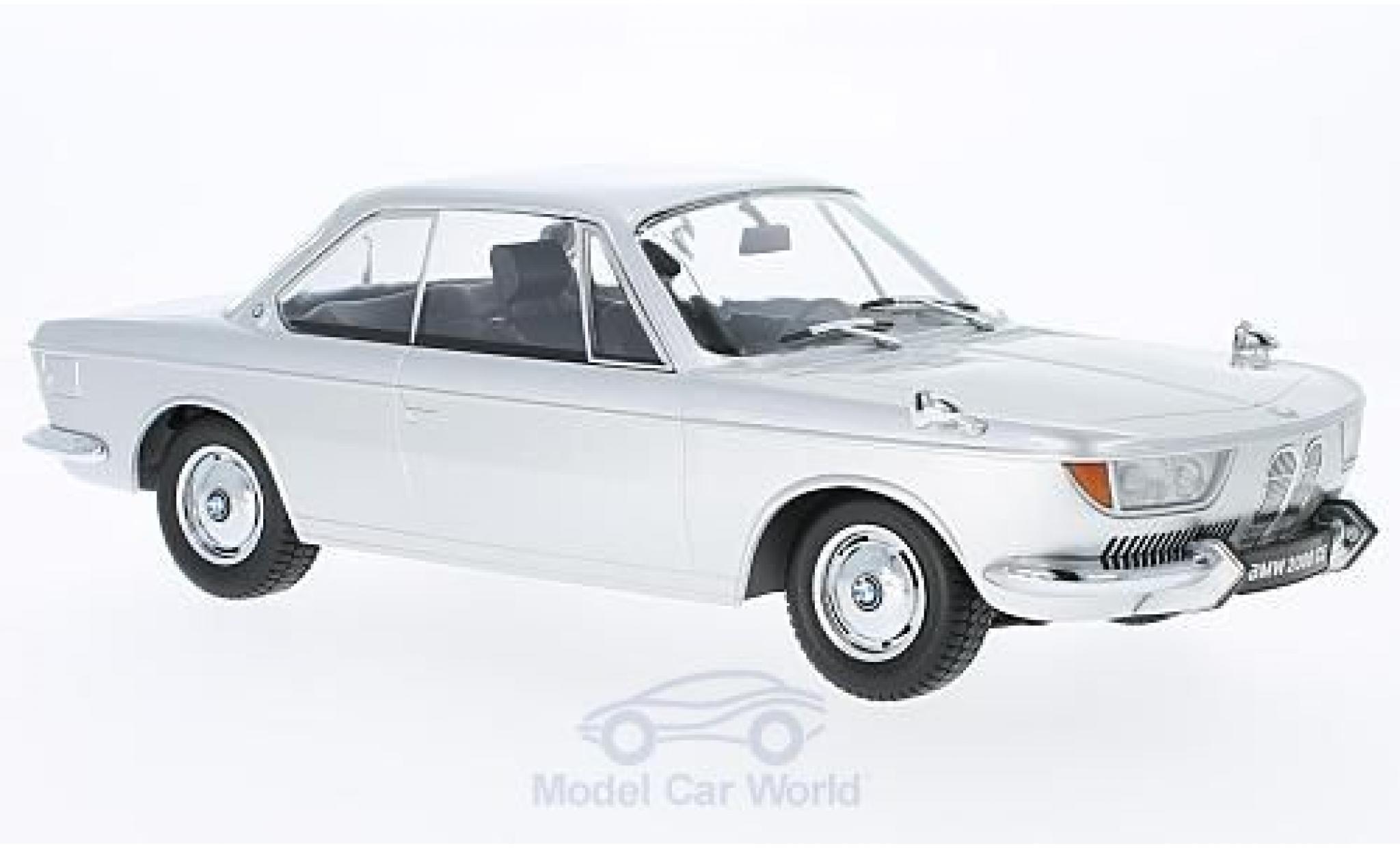 Bmw 2000 CS 1/18 KK Scale grise 1965