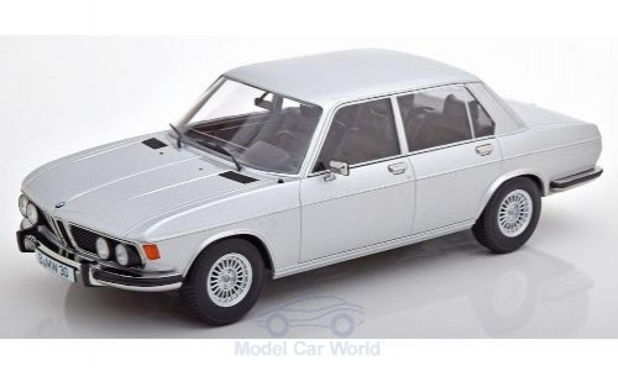 Bmw 3.0 1/18 KK Scale S (E3) grey 1971