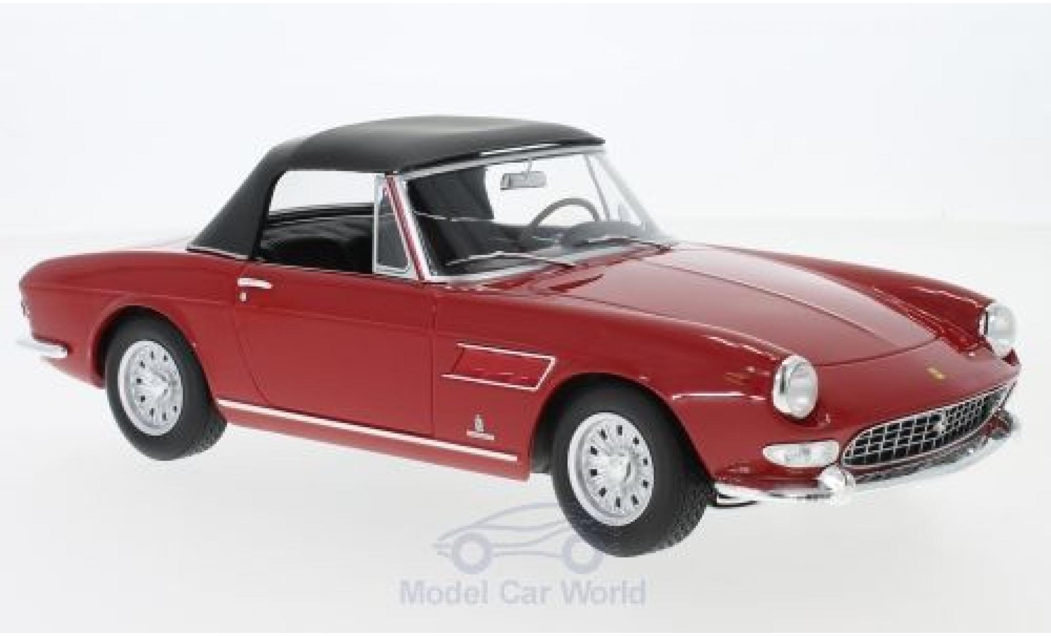 Ferrari 275 1/18 KK Scale GTS Pininfarina Spyder rouge 1964 Softtop liegt ein