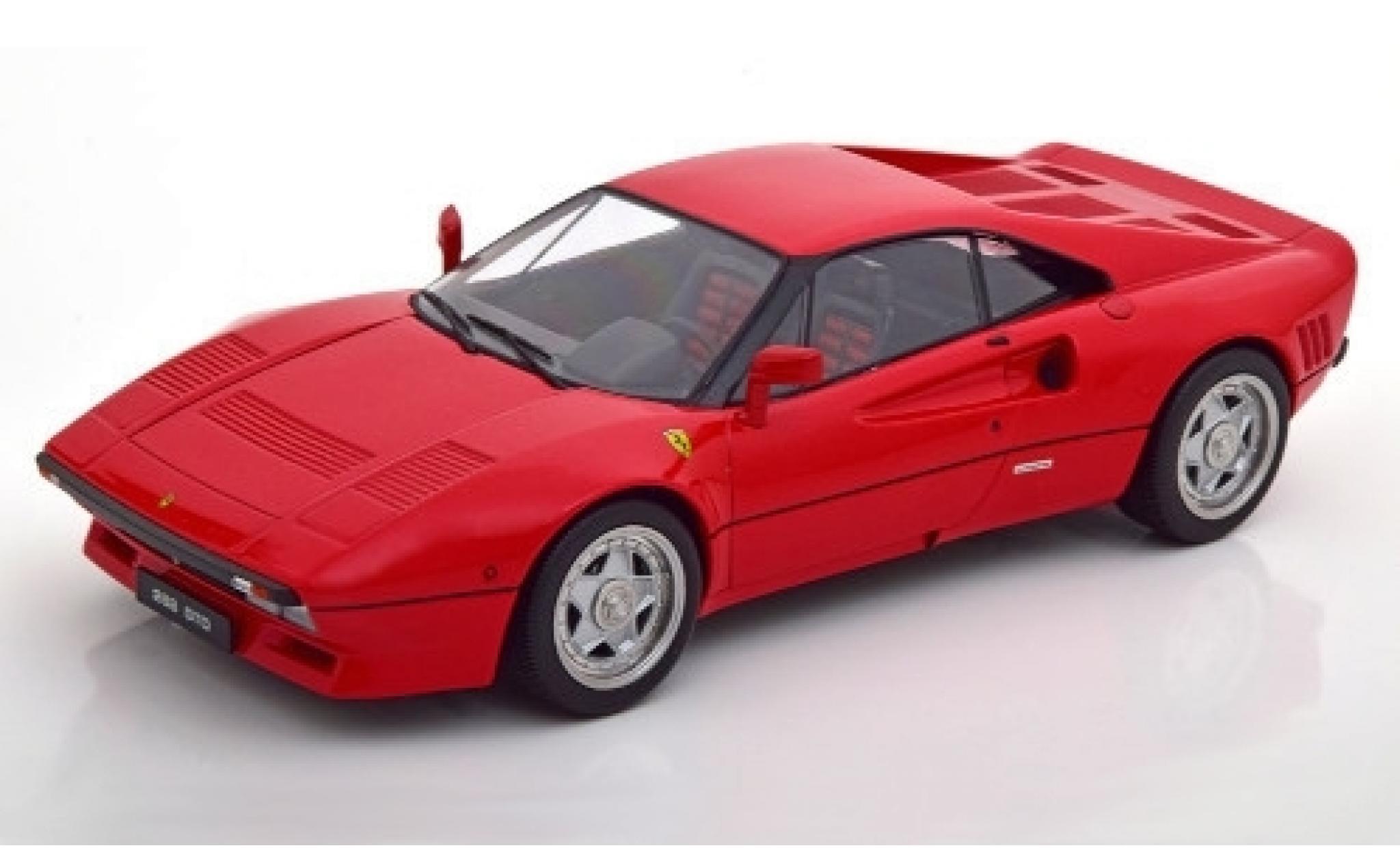 Ferrari 288 1/18 KK Scale GTO rouge 1984 Interieur: noire/rouge