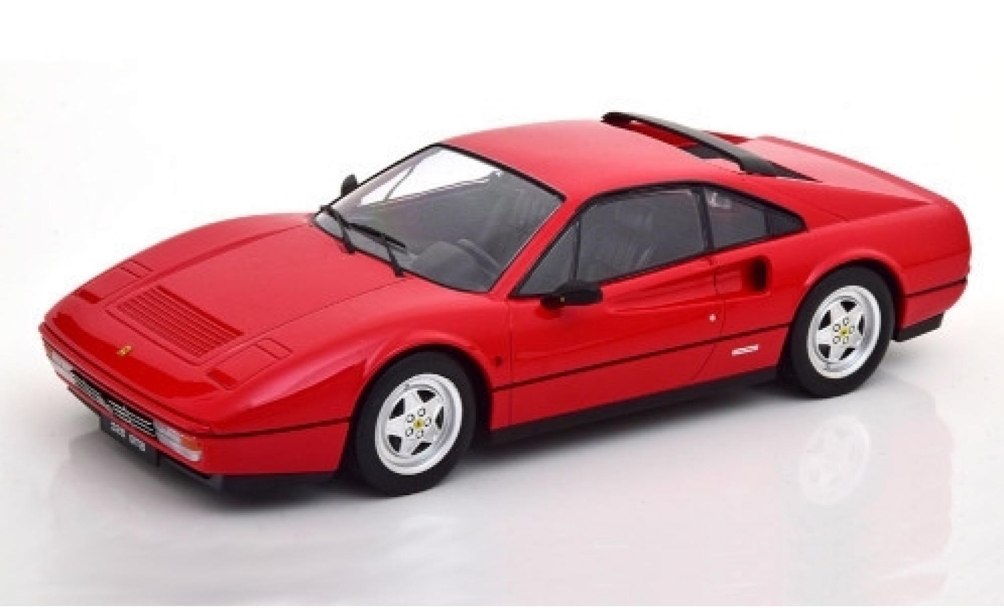 Ferrari 328 1/18 KK Scale GTB rouge 1985