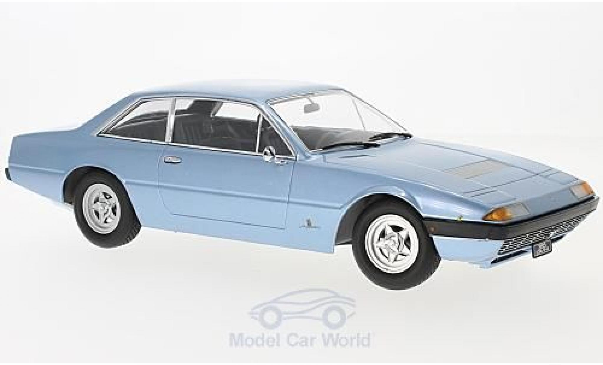 Ferrari 365 GT4 2+2 1/18 KK Scale metallise blau 1972