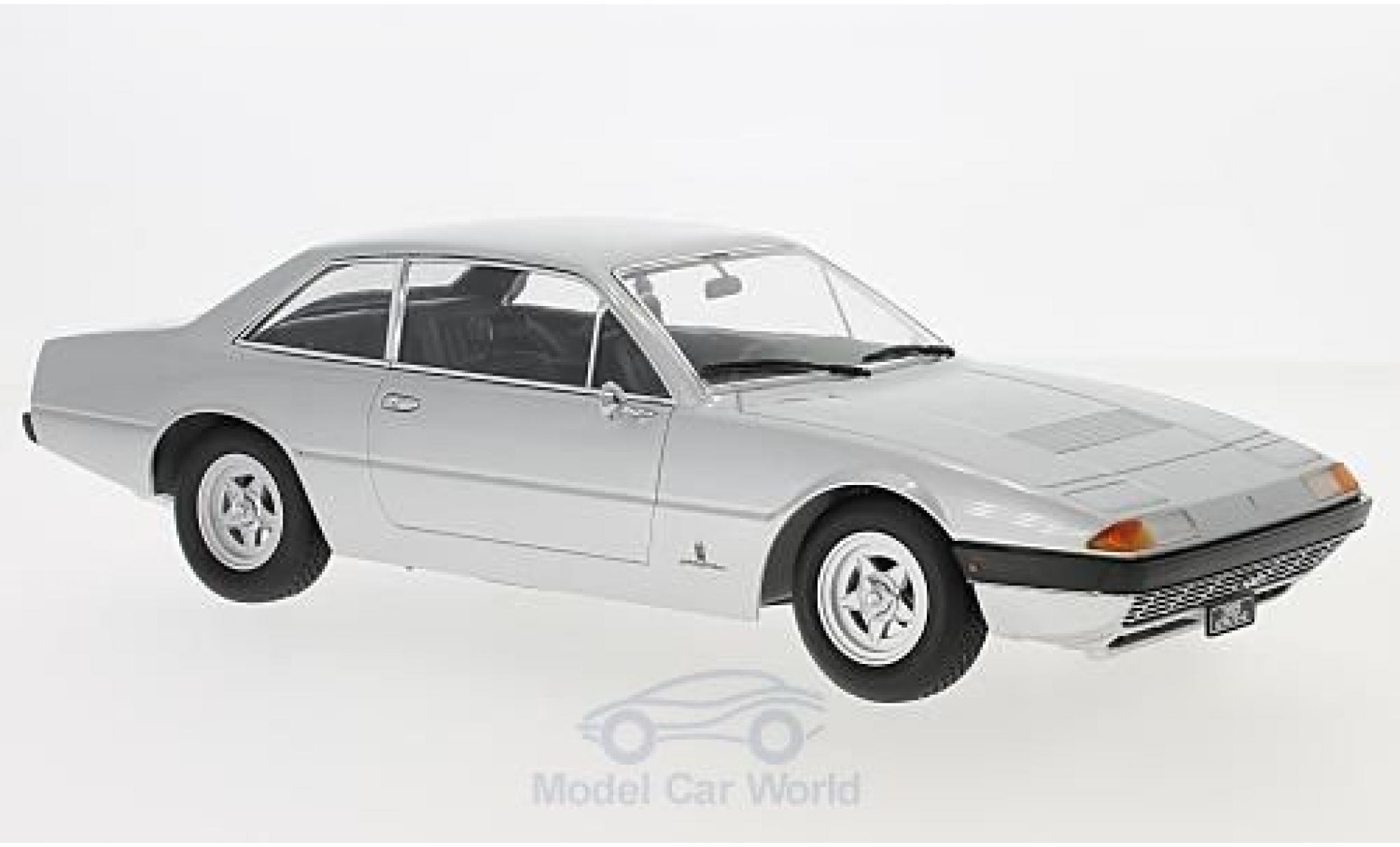 Ferrari 365 GT4 2+2 1/18 KK Scale silber 1972