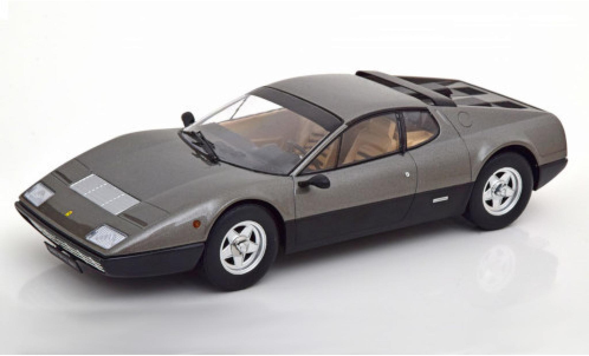 Ferrari 365 1/18 KK Scale GT4 BB metallise grise/noire 1973