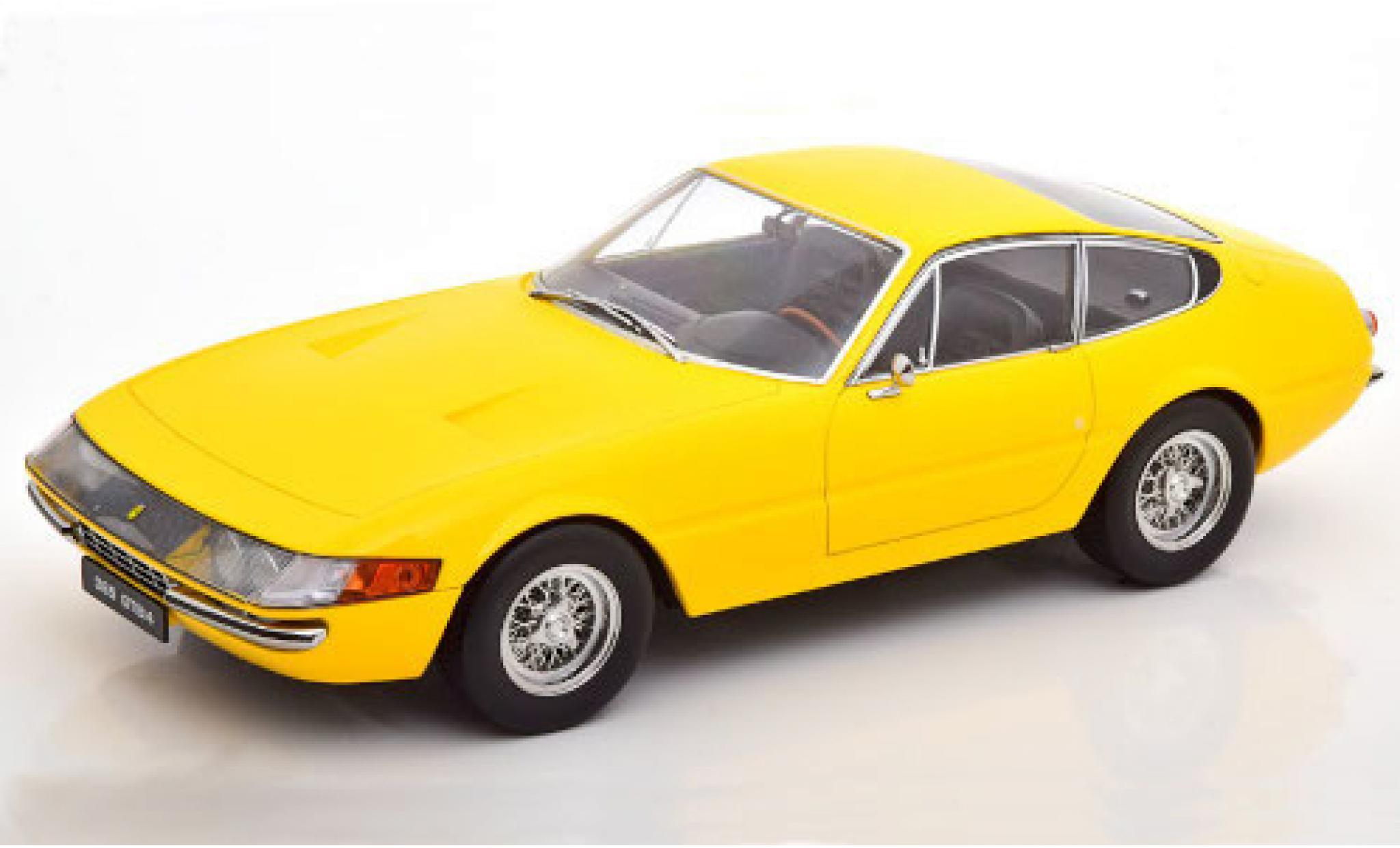Ferrari 365 1/18 KK Scale GTB/4 Daytona jaune 1969