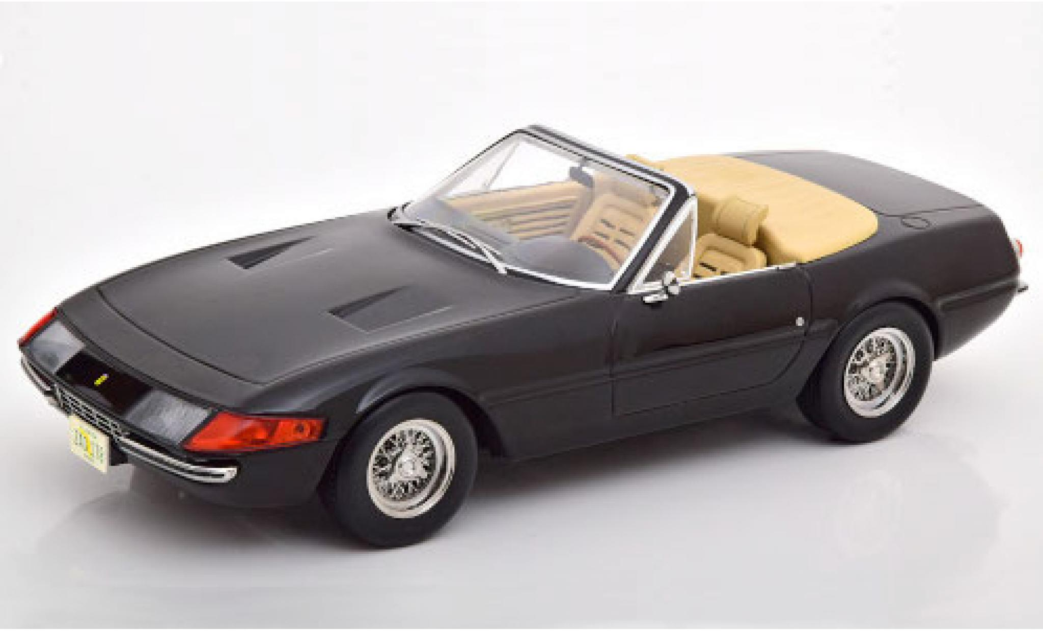 Ferrari 365 1/18 KK Scale GTS/4 Daytona Spider noire 1969 US-Version