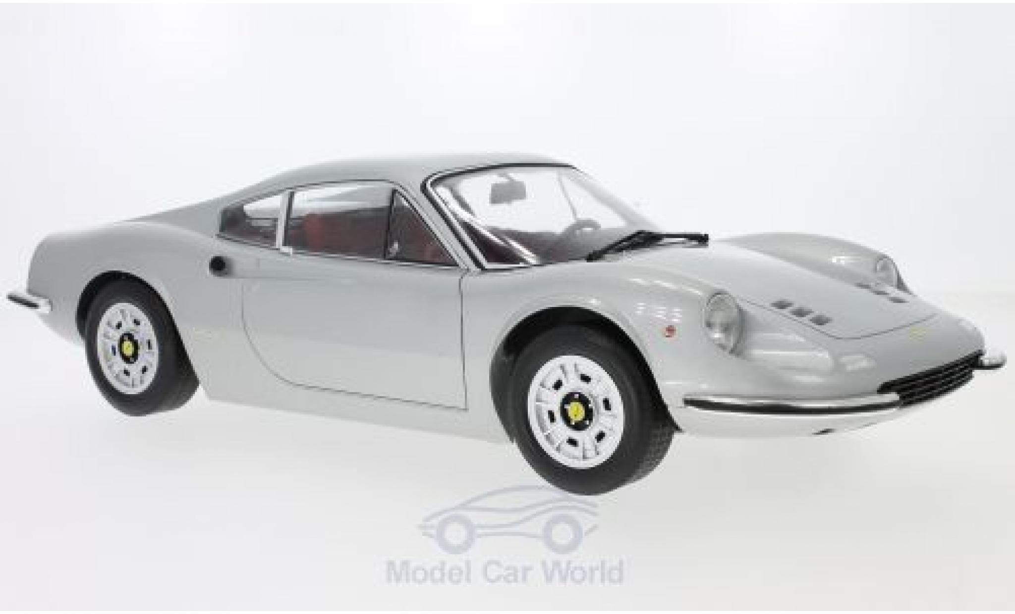 Ferrari Dino 1/12 KK Scale 246GT silber 1973