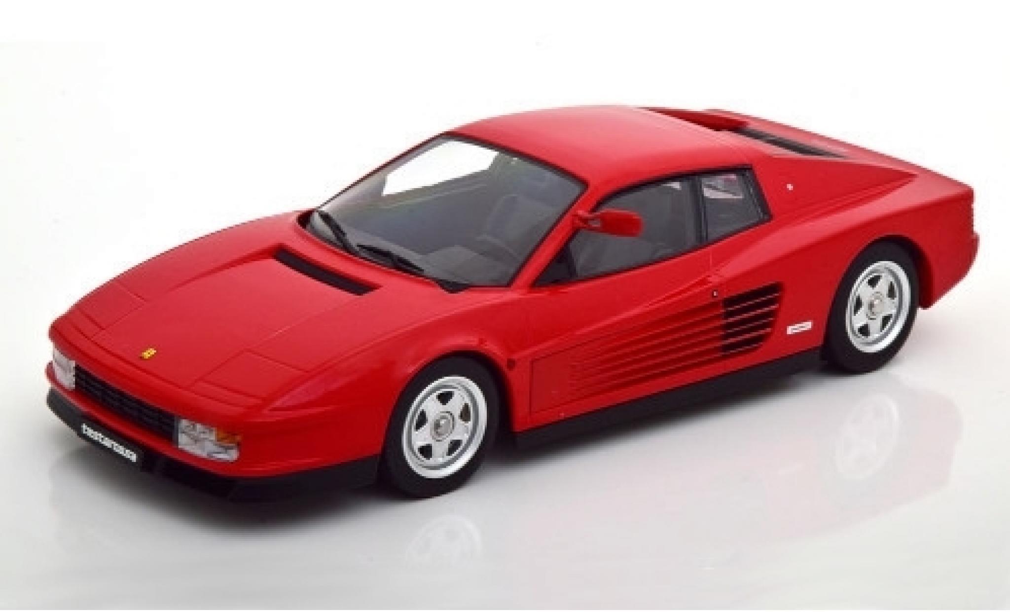 Ferrari Testarossa 1/18 KK Scale rouge 1984 Monospecchio