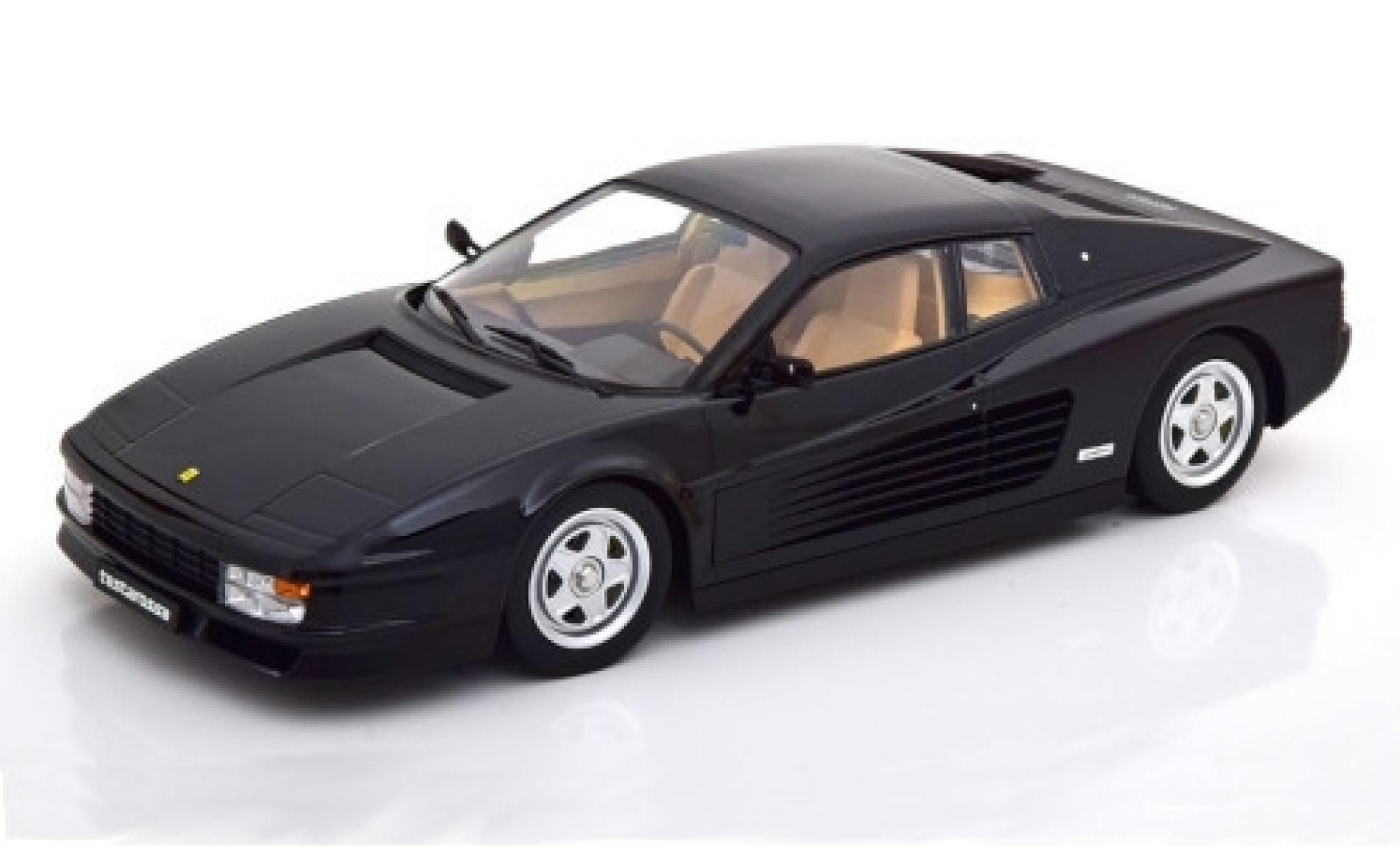Ferrari Testarossa 1/18 KK Scale noire 1986