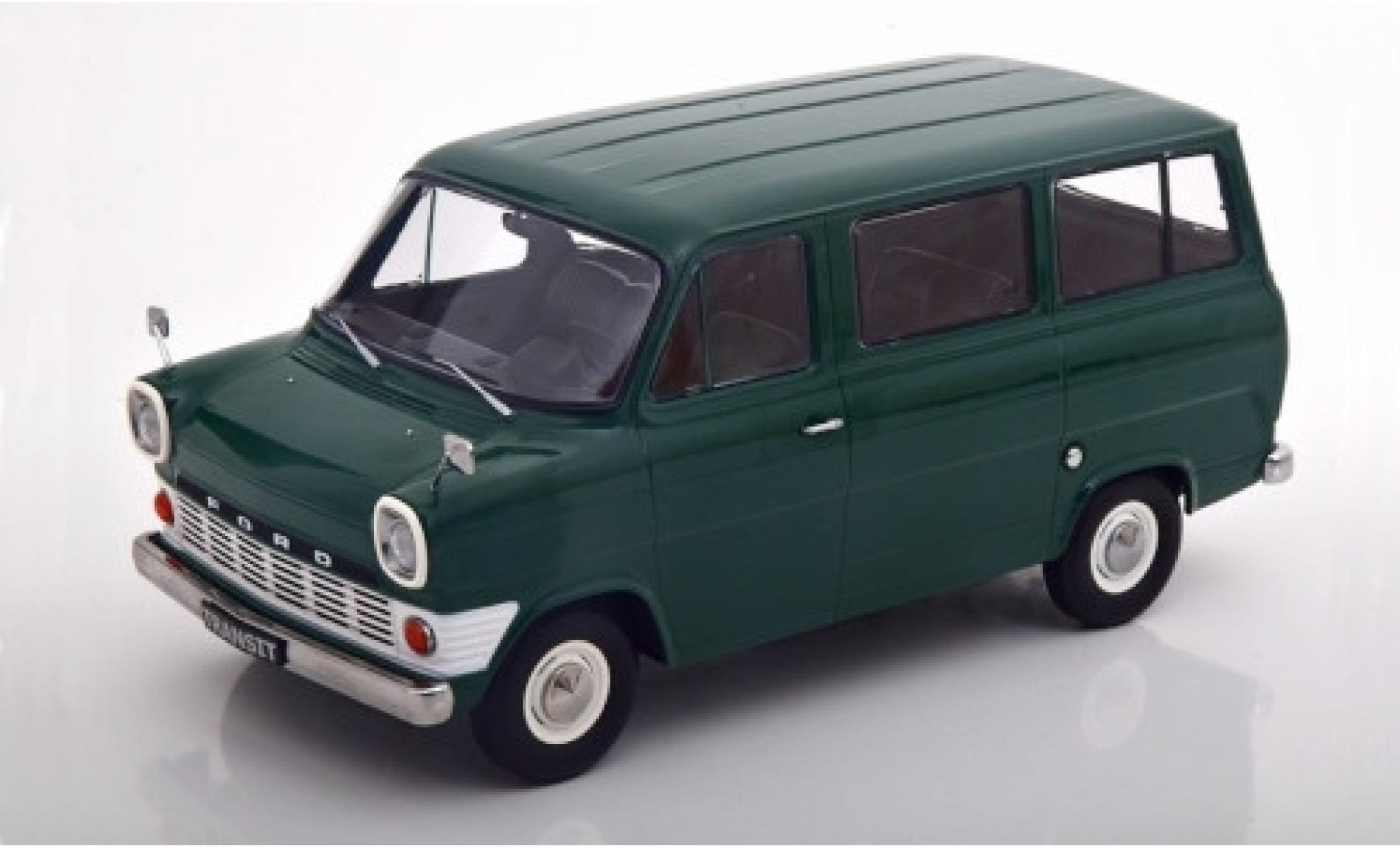 Ford Transit 1/18 KK Scale Mk1 Bus verte 1965
