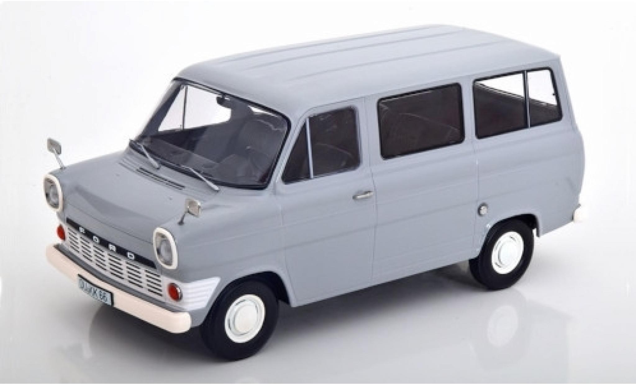 Ford Transit 1/18 KK Scale Mk1 Bus grise 1965