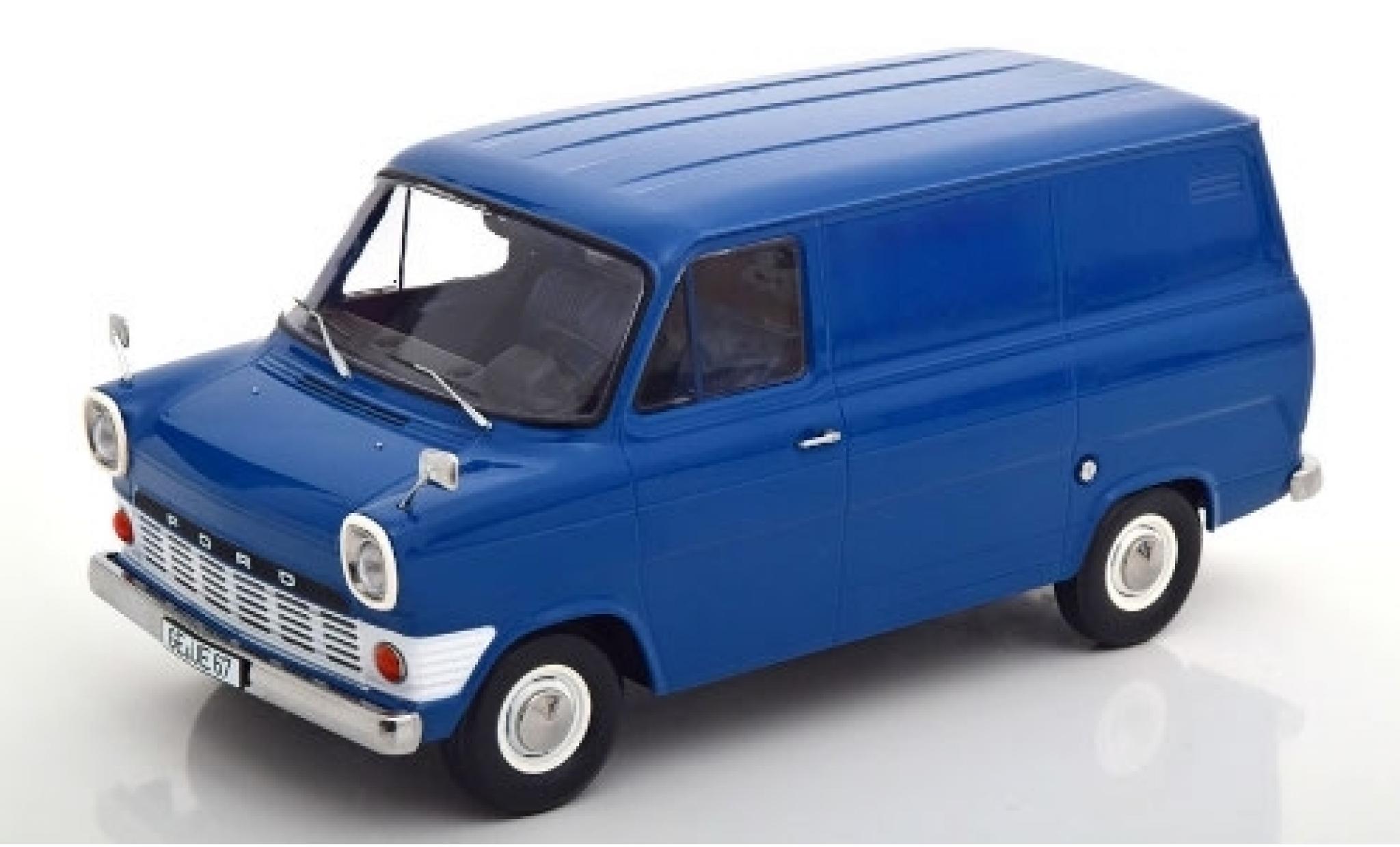 Ford Transit 1/18 KK Scale Mk1 Kasten blue 1965