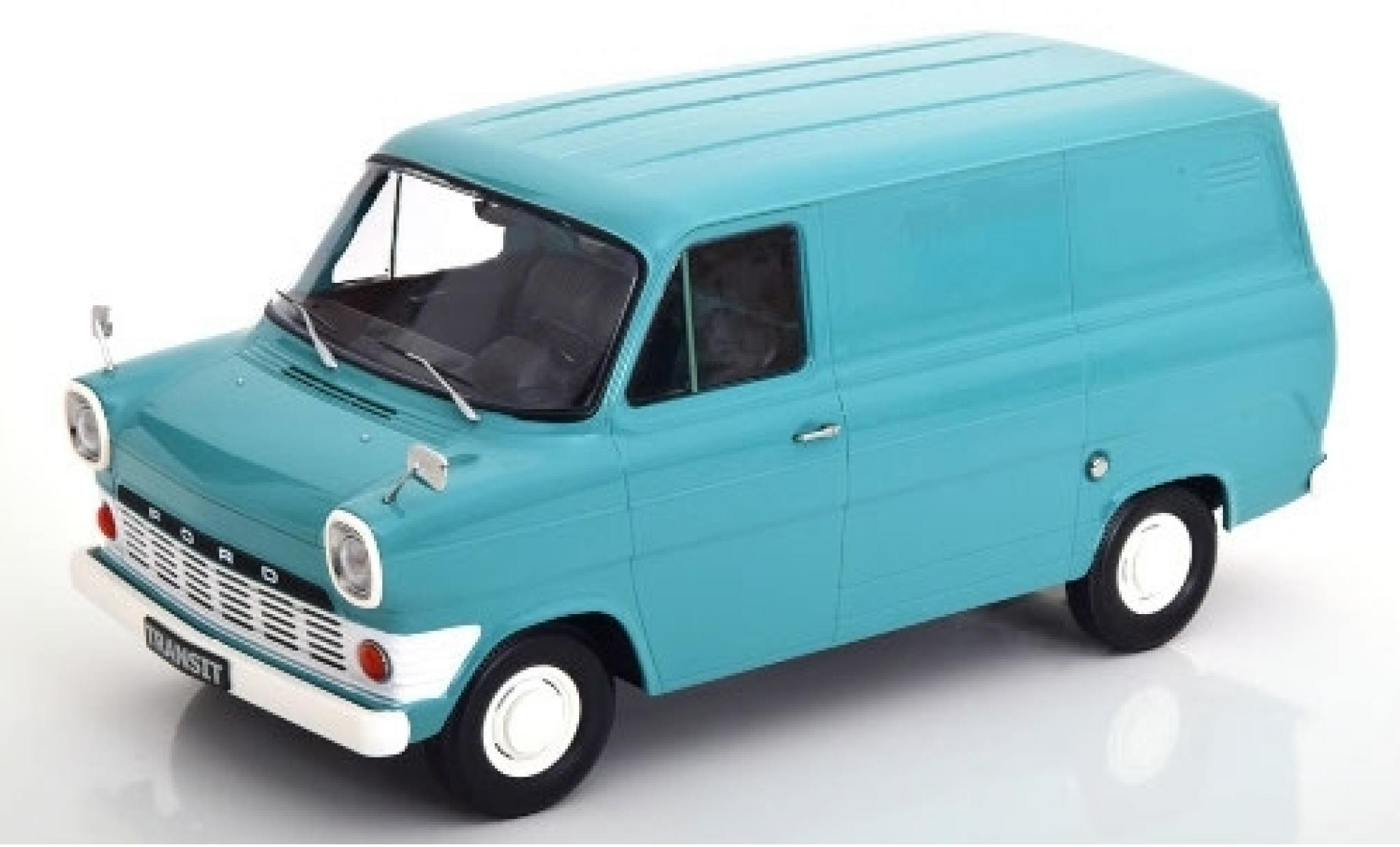 Ford Transit 1/18 KK Scale Mk1 Kasten turquoise 1965