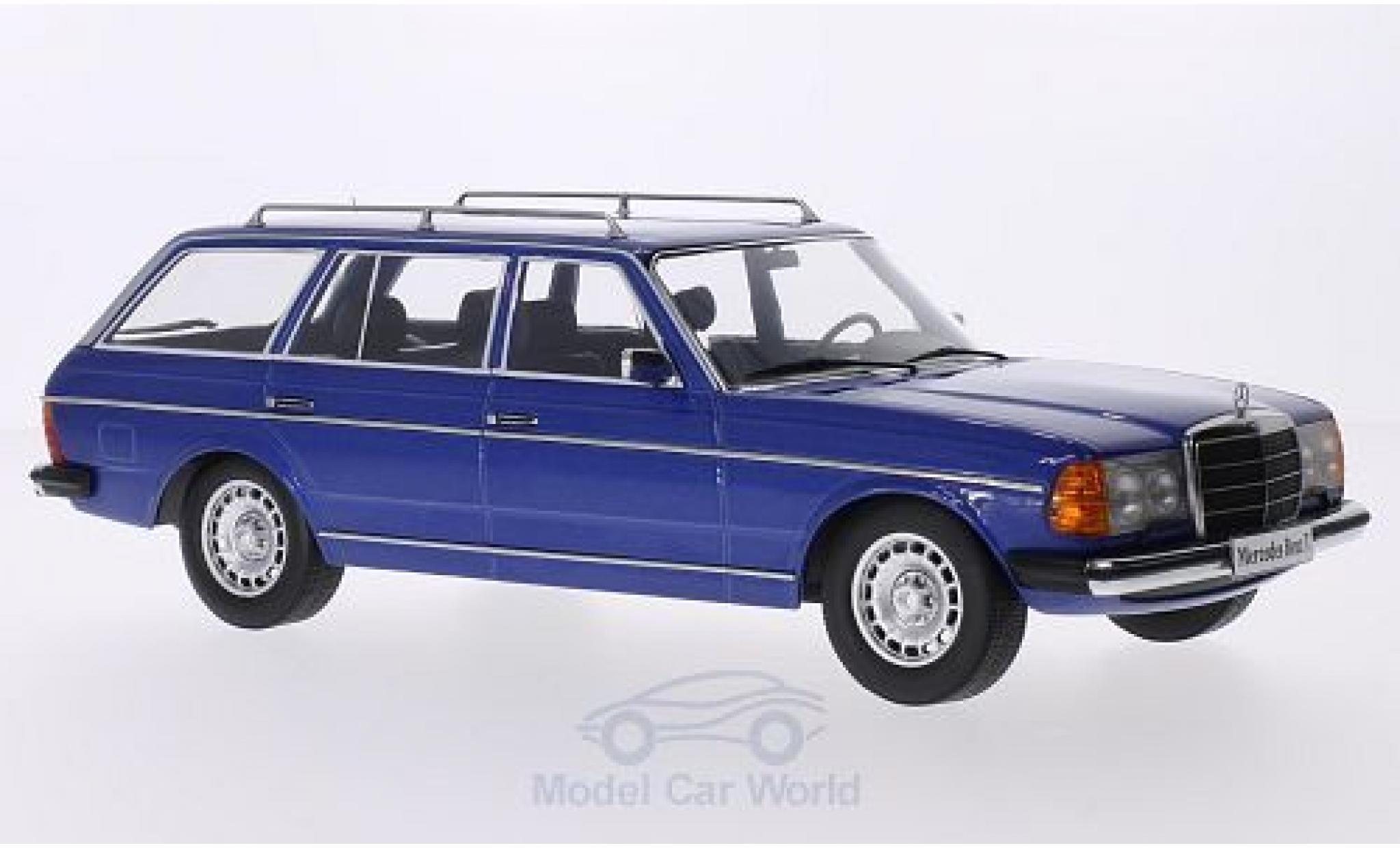 Mercedes 250 1/18 KK Scale T (S123) bleue 1978