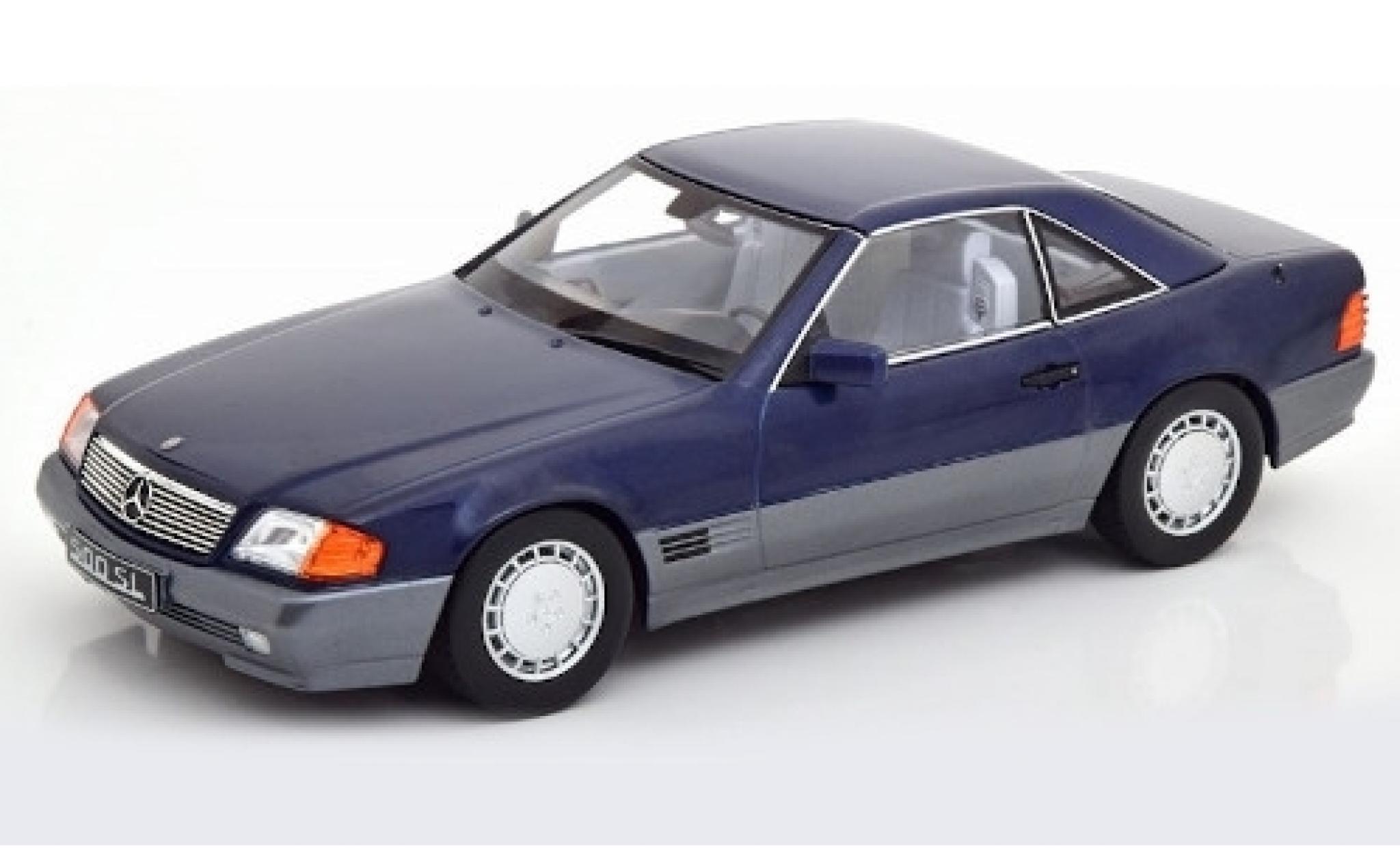 Mercedes 500 1/18 KK Scale SL (R129) metallise bleue 1993