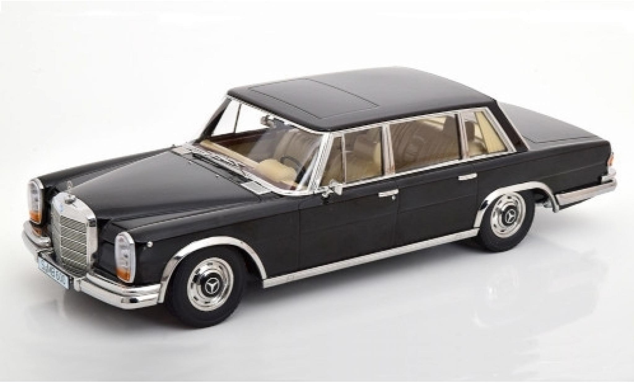 Mercedes 600 1/18 KK Scale (W100) black 1963