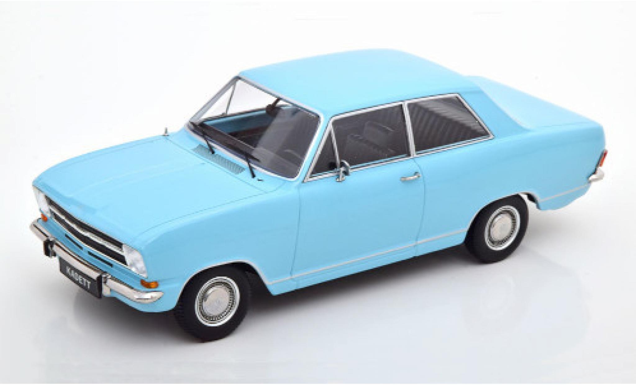 Opel Kadett 1/18 KK Scale B 1.2 bleue 1972 2-portes