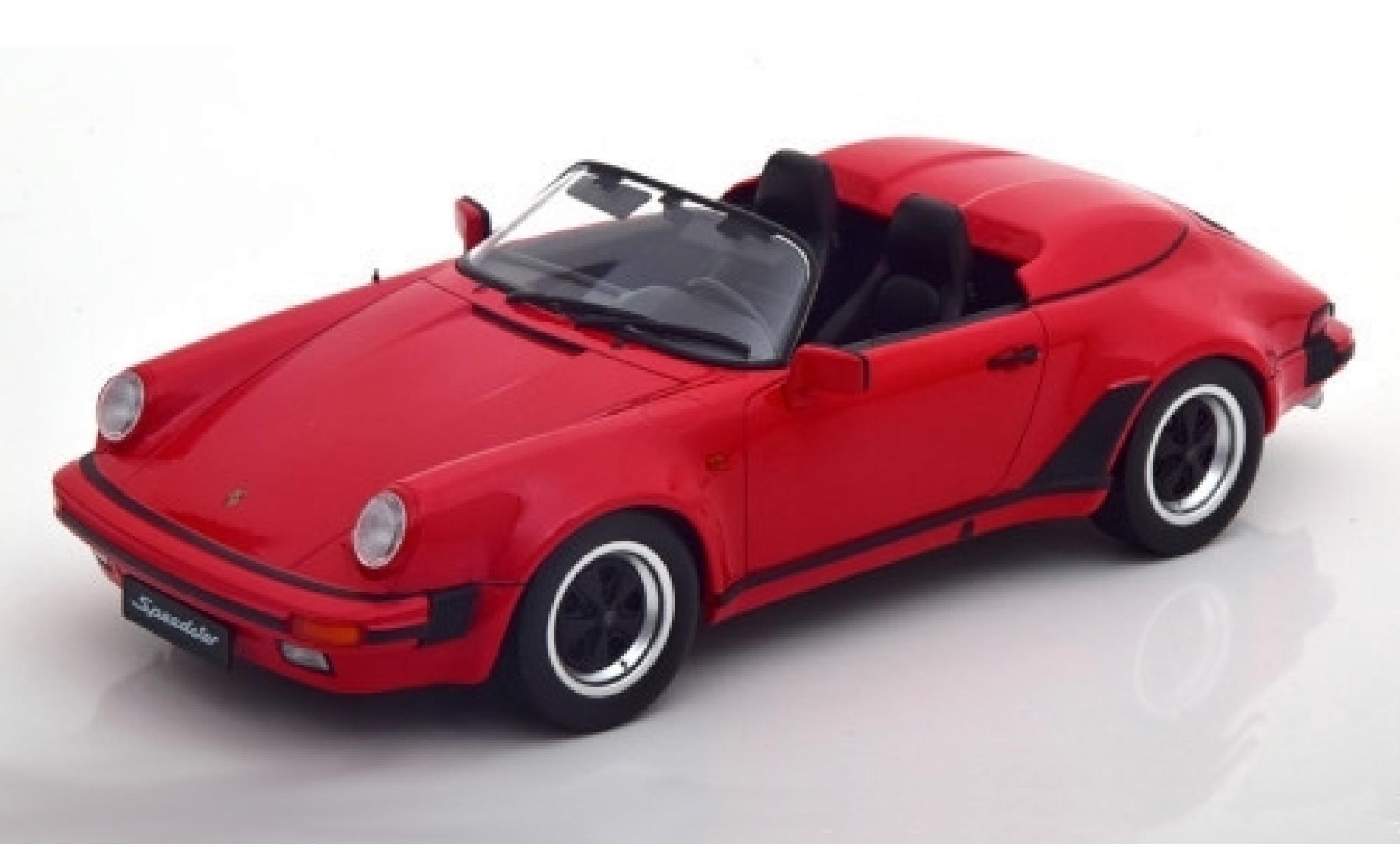 Porsche 930 Speedster 1/18 KK Scale 911 rouge 1989