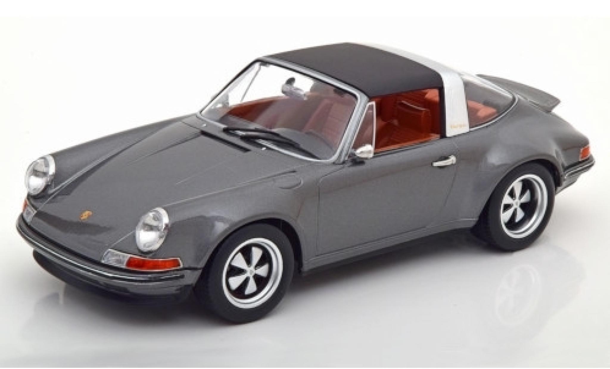 Porsche 911 1/18 KK Scale Targa Singer anthrazit Targadach détachable