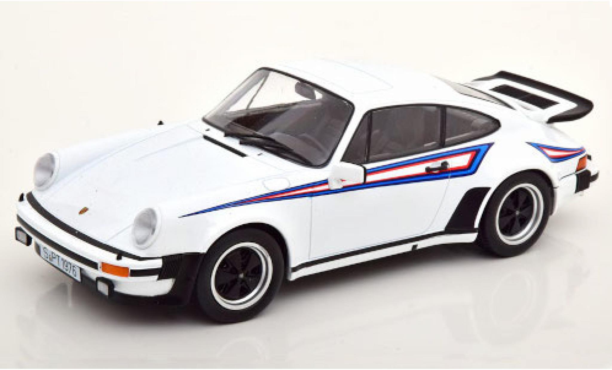Porsche 930 Turbo 1/18 KK Scale 911 3.0  white/Dekor 1976