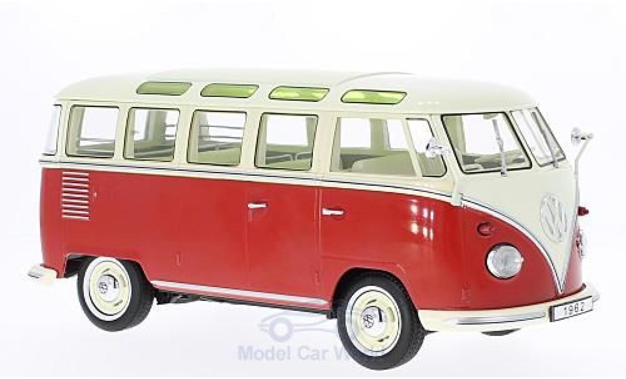 Volkswagen T1 B 1/18 KK Scale red/beige 1962 Samba