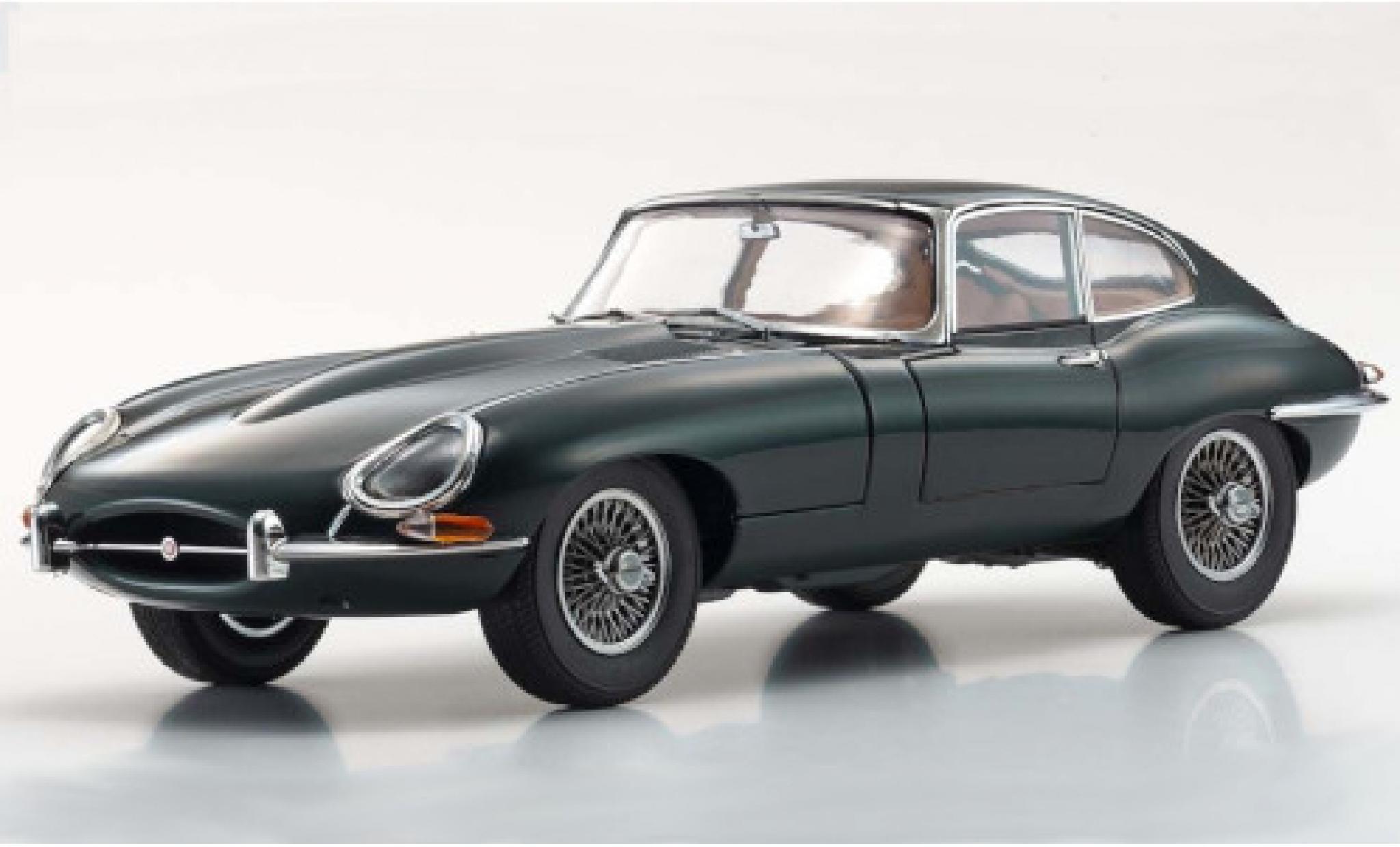 Jaguar E-Type 1/18 Kyosho Series I green RHD 1961