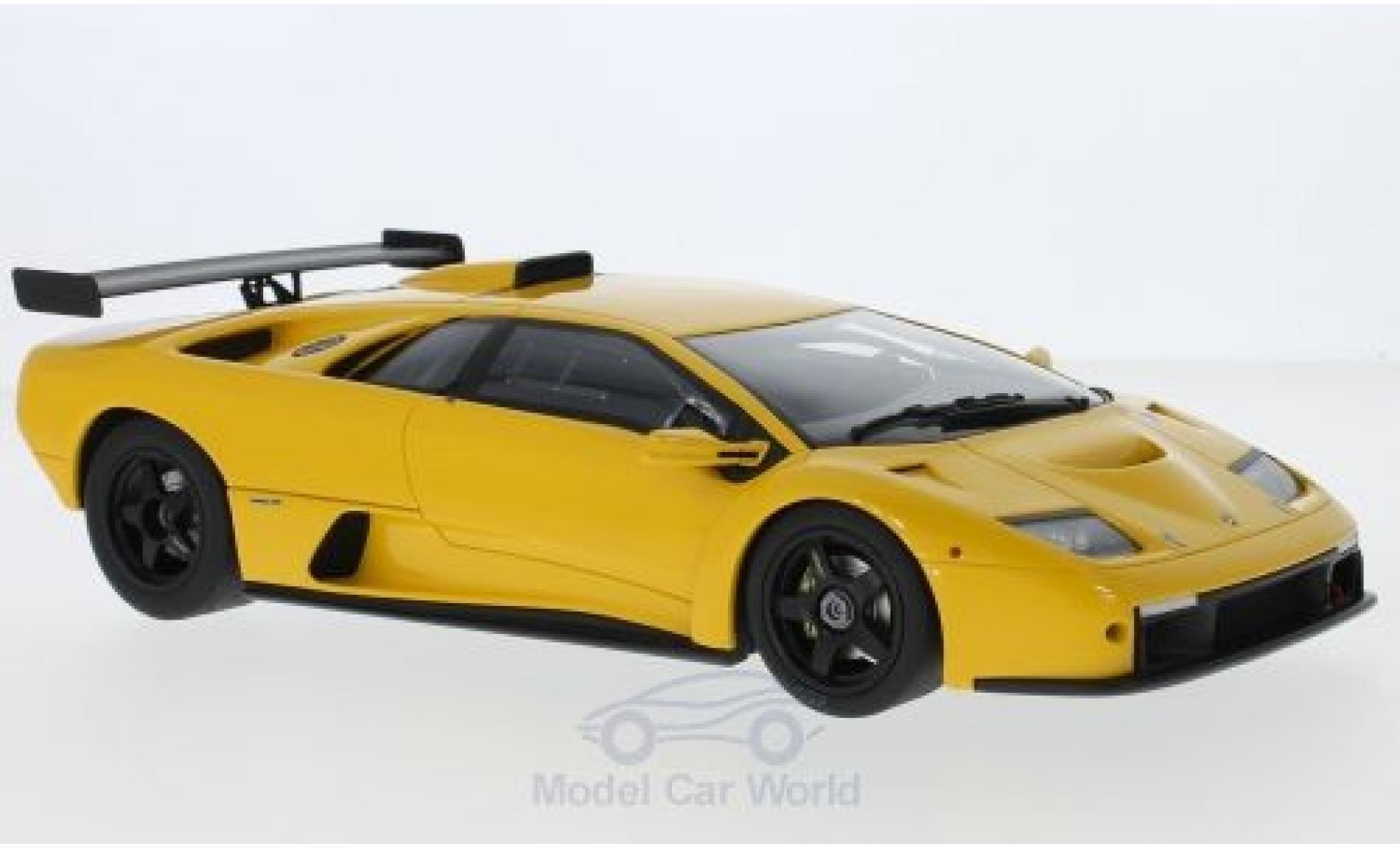 Lamborghini Diablo GTR 1/18 Kyosho giallo 1999