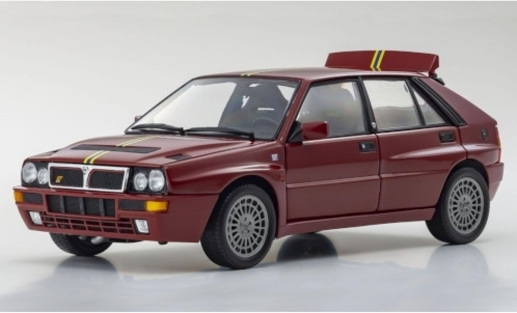 Lancia Delta 1/18 Kyosho HF Integrale Evoluzione II Edizione Finale rouge/Dekor 1995
