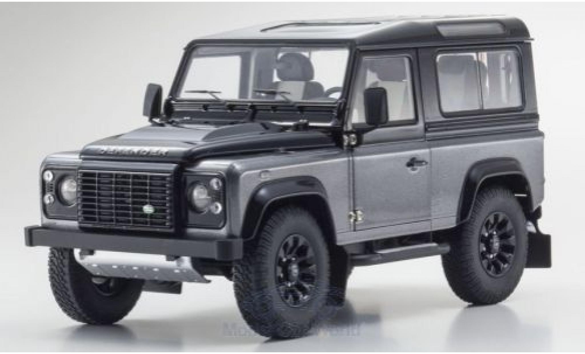 Land Rover Defender 1/18 Kyosho 90 Final Edition grise