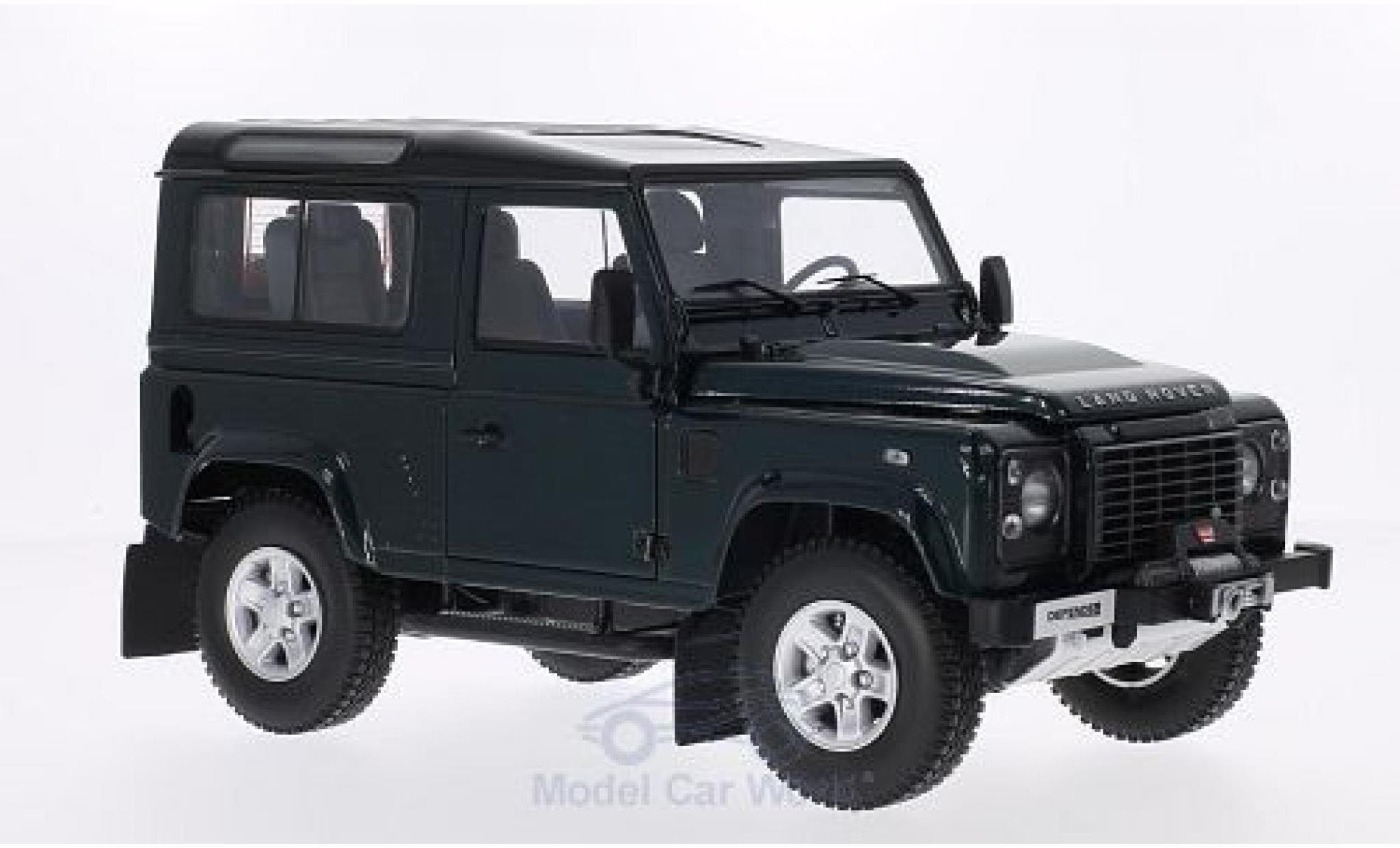 Land Rover Defender 1/18 Kyosho 90 green