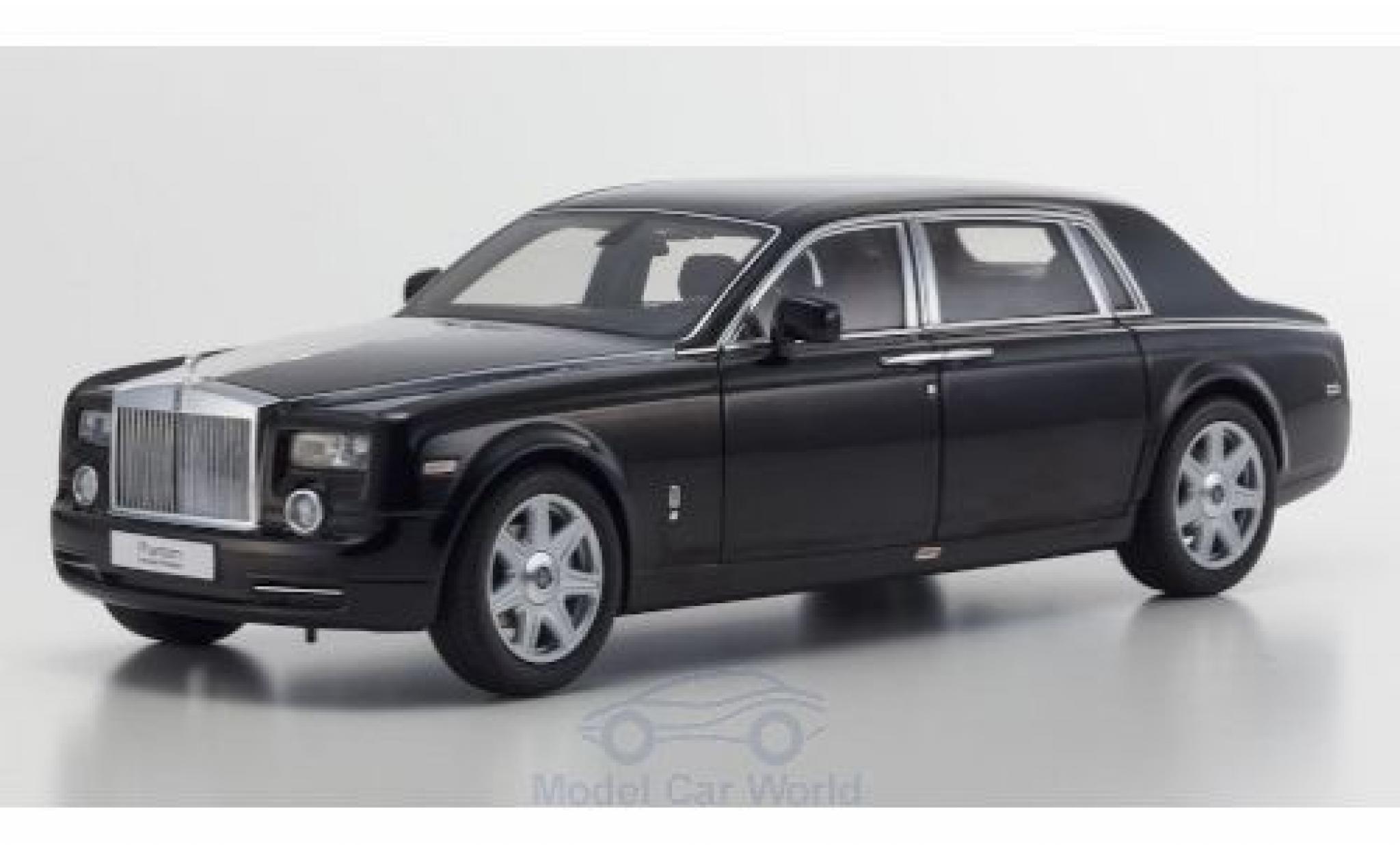 Rolls Royce Phantom 1/18 Kyosho EWB noire 2003