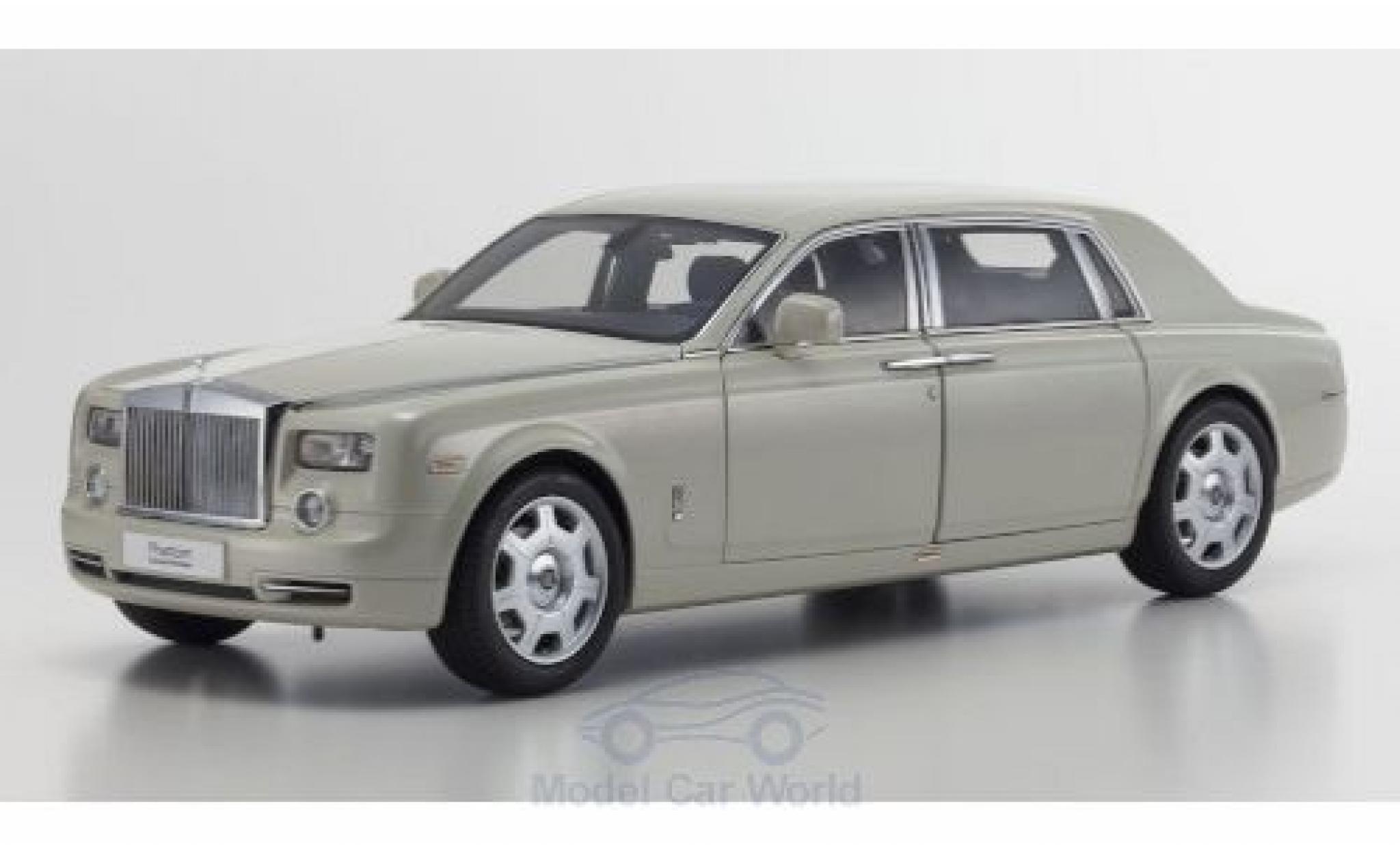 Rolls Royce Phantom 1/18 Kyosho EWB blanche 2003