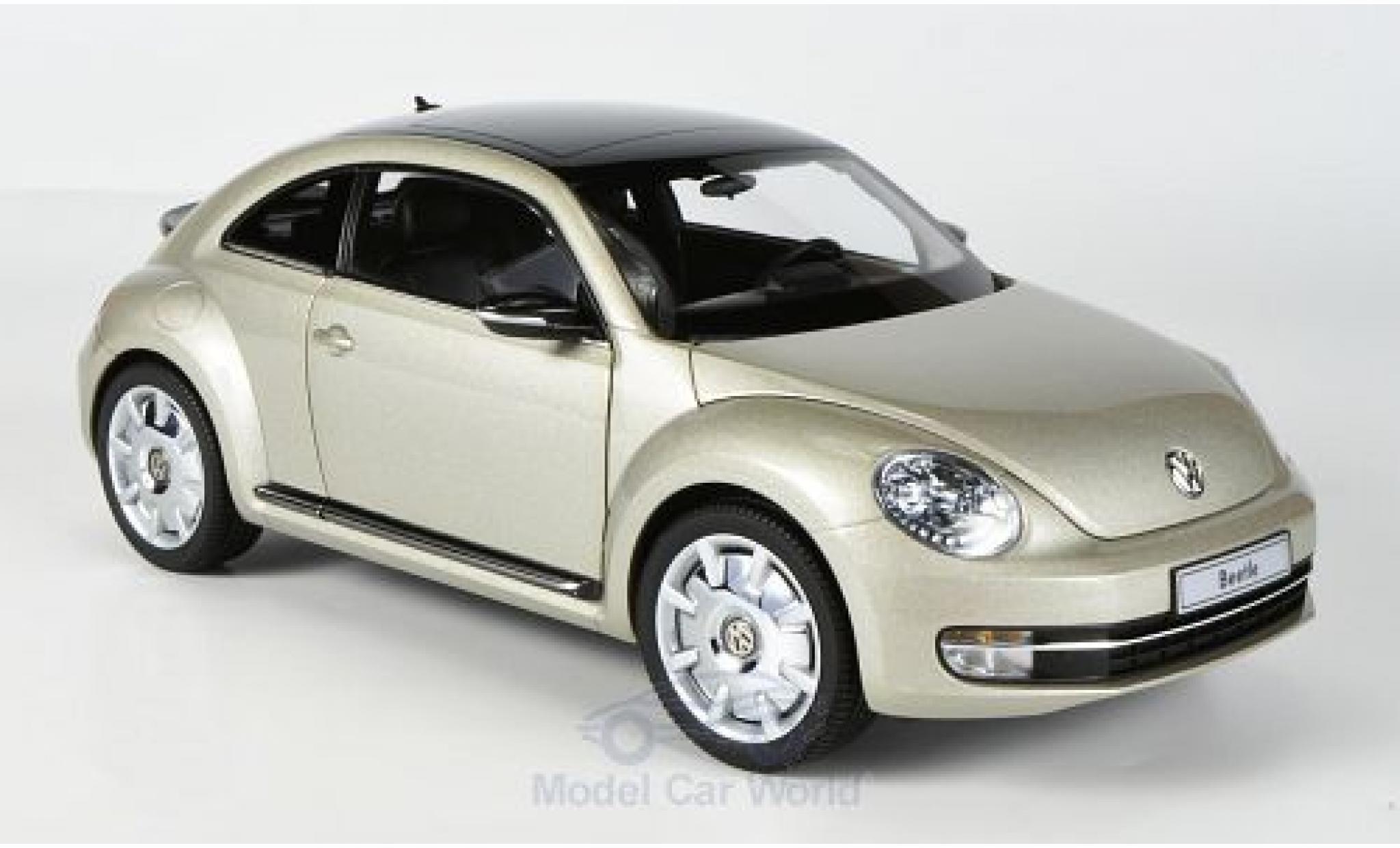 Volkswagen Beetle 1/18 Kyosho Coupe metallic-beige 2011