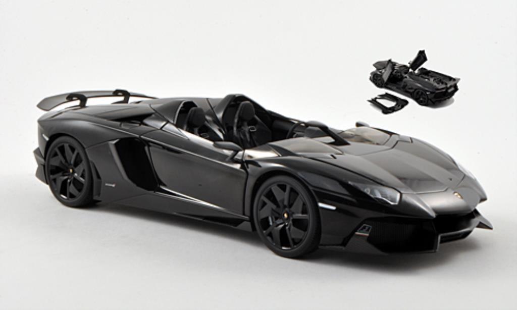 lamborghini aventador j schwarz 2012 autoart modellauto 1. Black Bedroom Furniture Sets. Home Design Ideas