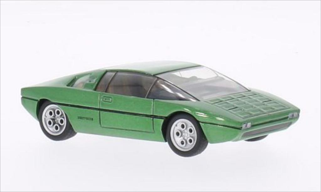 Lamborghini Bravo 1/43 WhiteBox metallise grun 1974 diecast model cars