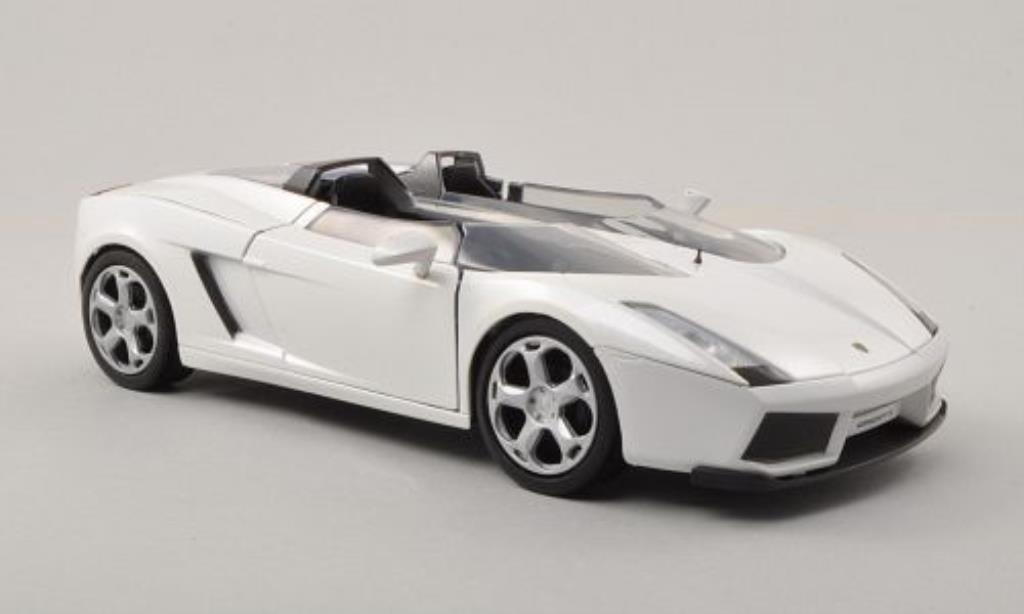 Lamborghini Concept 1/24 Motormax S blanche miniature