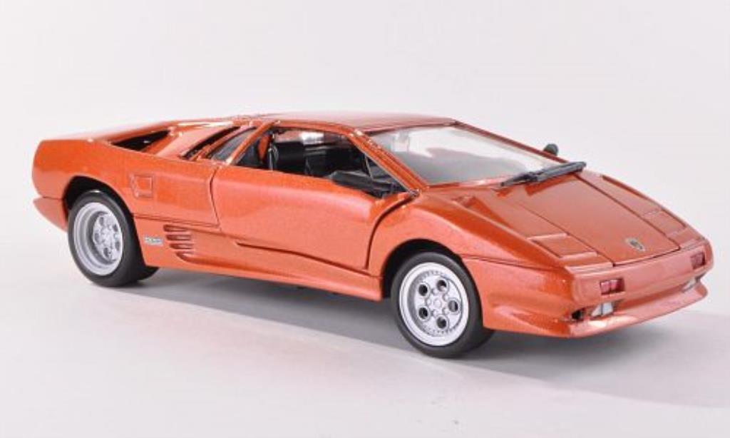 Lamborghini Diablo 1/24 Motormax kupfer