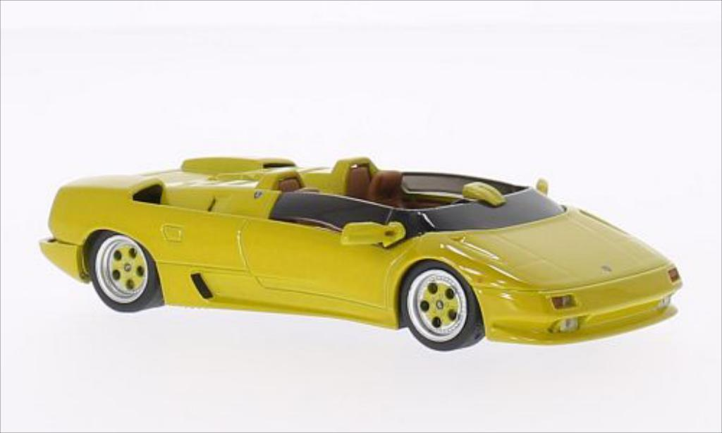 Lamborghini Diablo 1/43 WhiteBox Roadster Predotyp yellow 1992