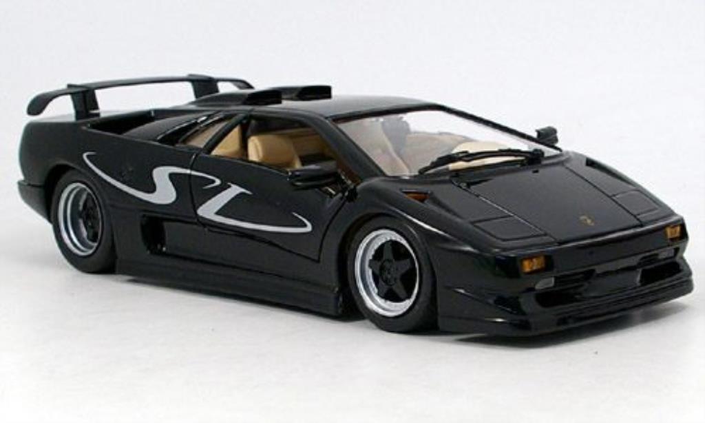 Lamborghini Diablo SV black Maisto. Lamborghini Diablo SV black miniature 1/18