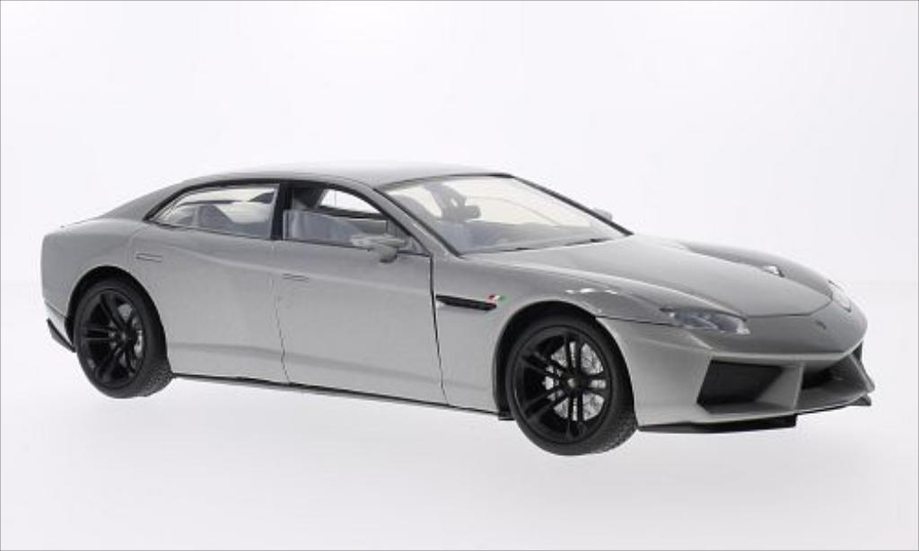 Lamborghini Estoque 1/18 Motormax metallise grey diecast model cars